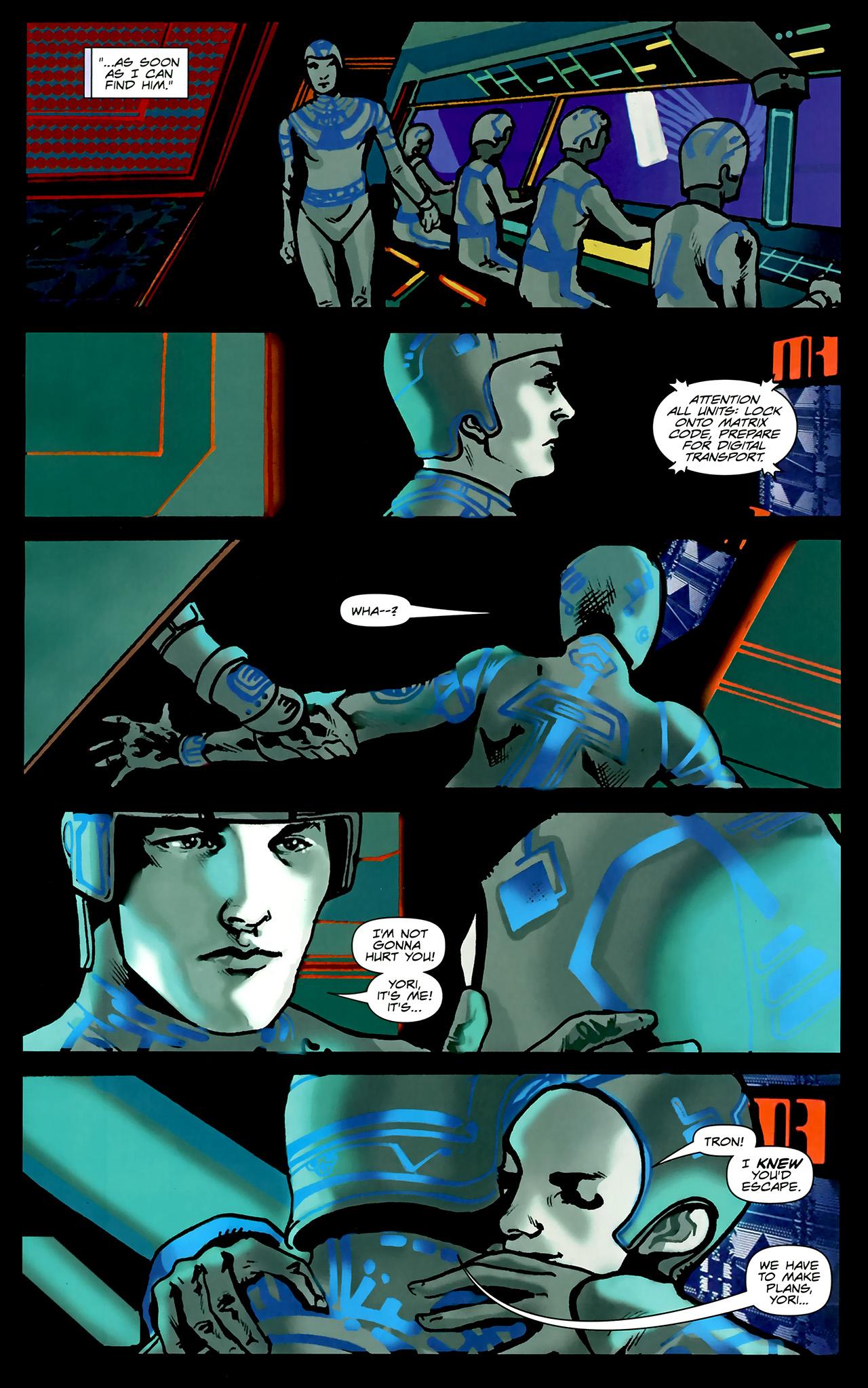 Read online TRON: Original Movie Adaptation comic -  Issue #2 - 15
