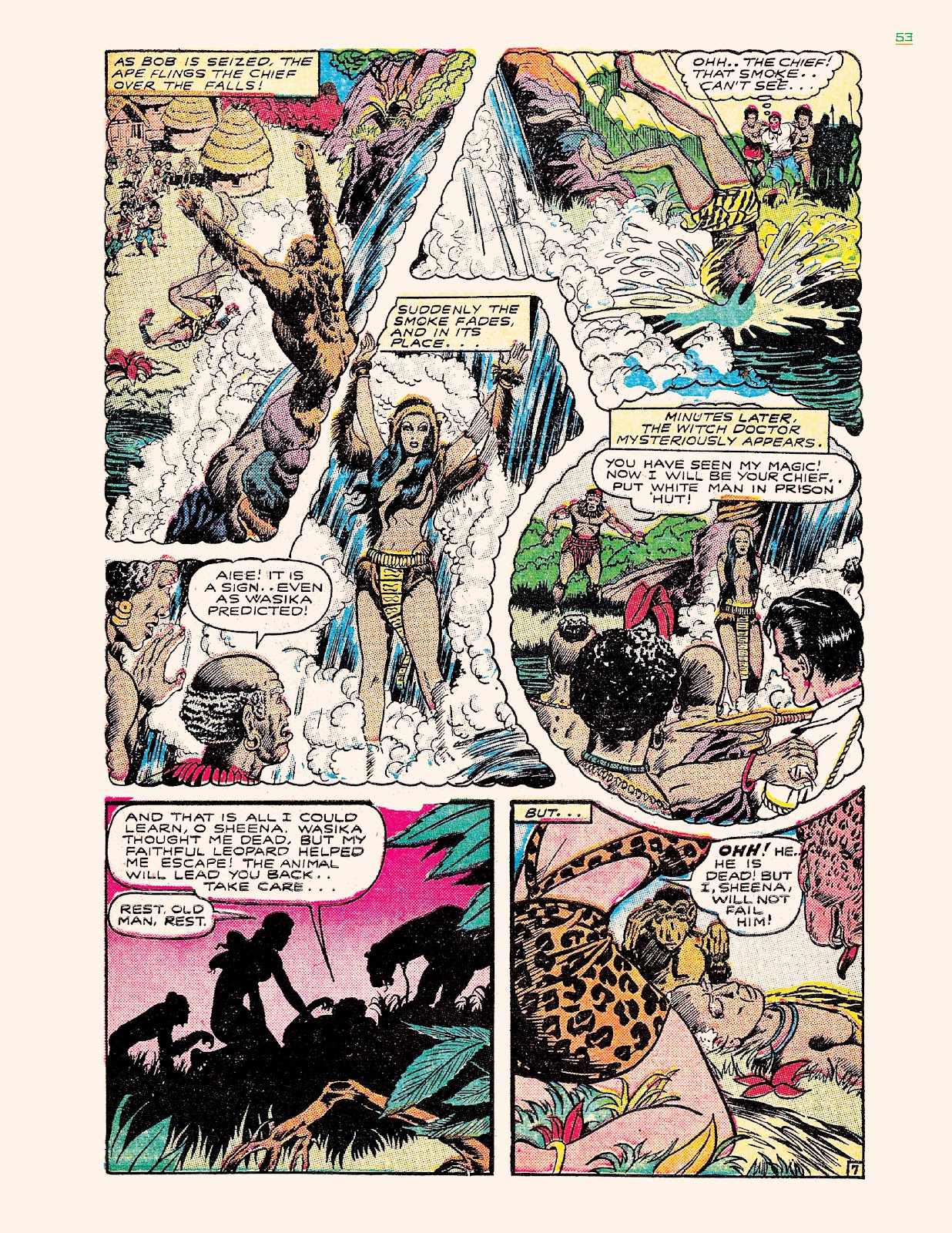 Read online Jungle Girls comic -  Issue # TPB (Part 1) - 53