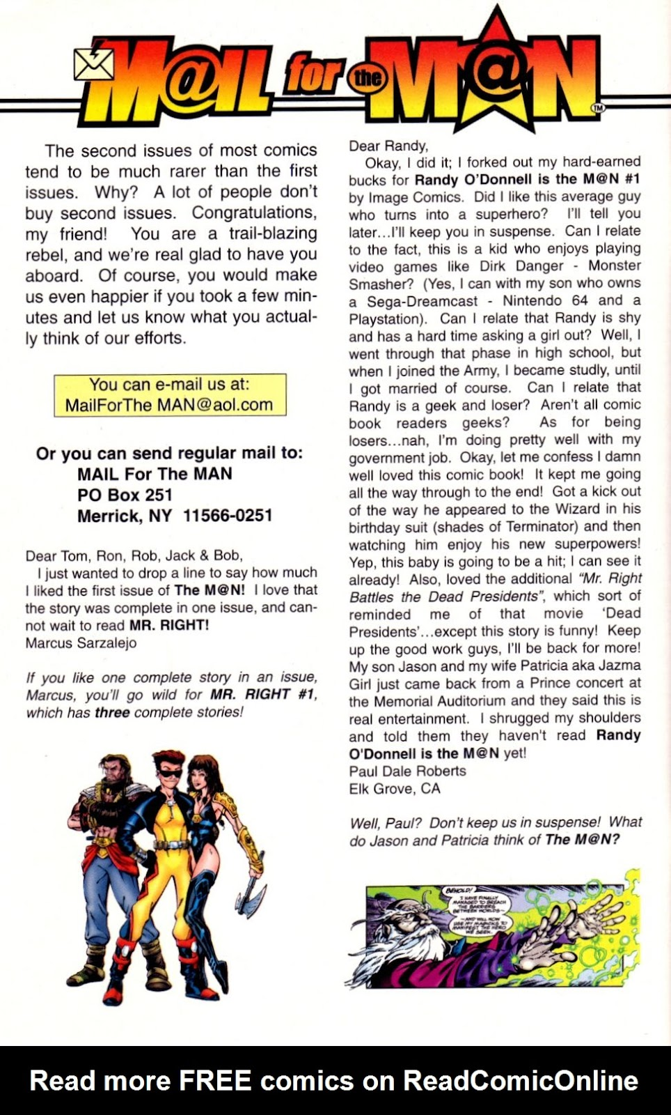 Read online Randy O'Donnell is The M@N comic -  Issue #2 - 29