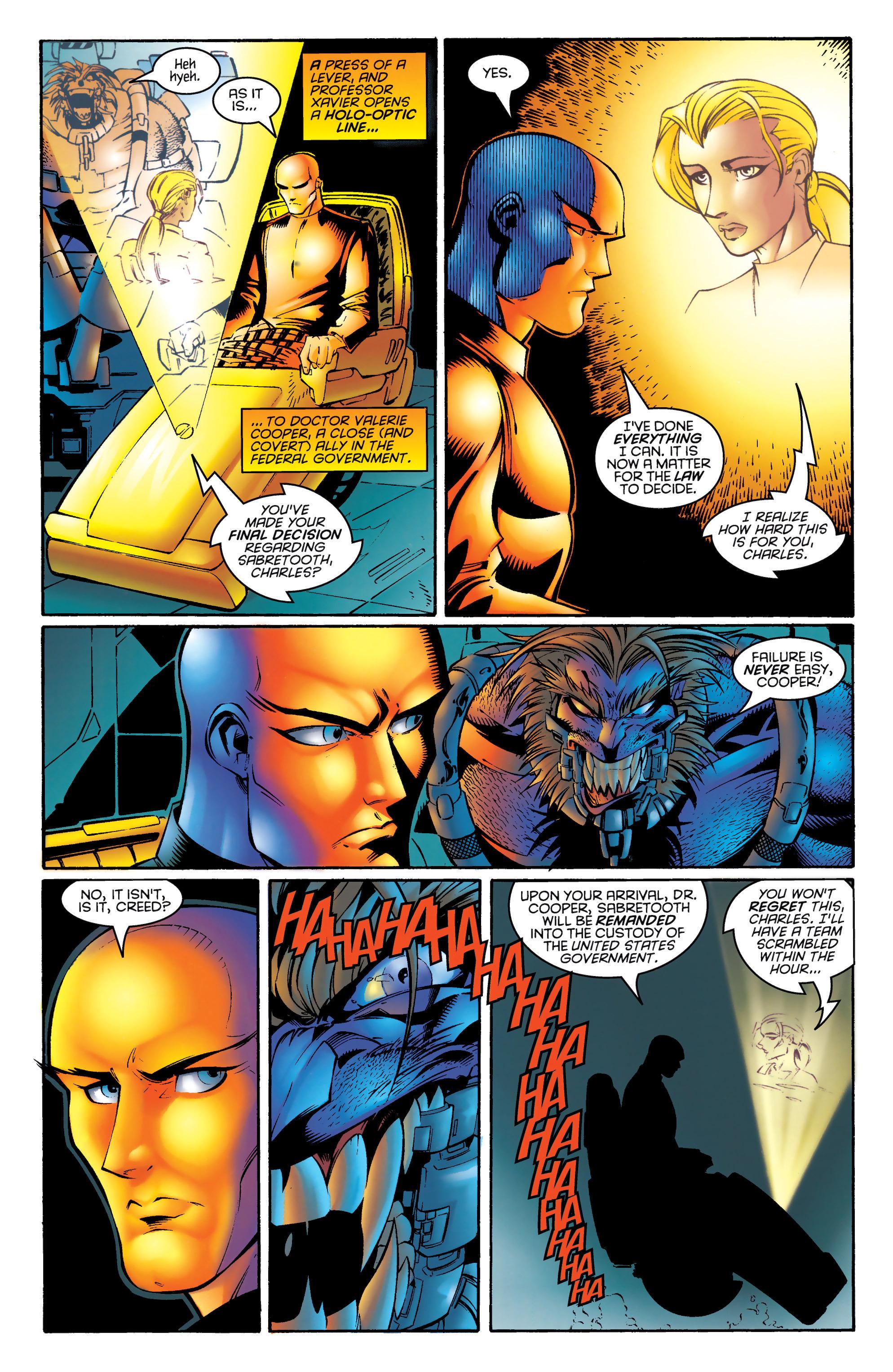 Read online Uncanny X-Men (1963) comic -  Issue #328 - 8
