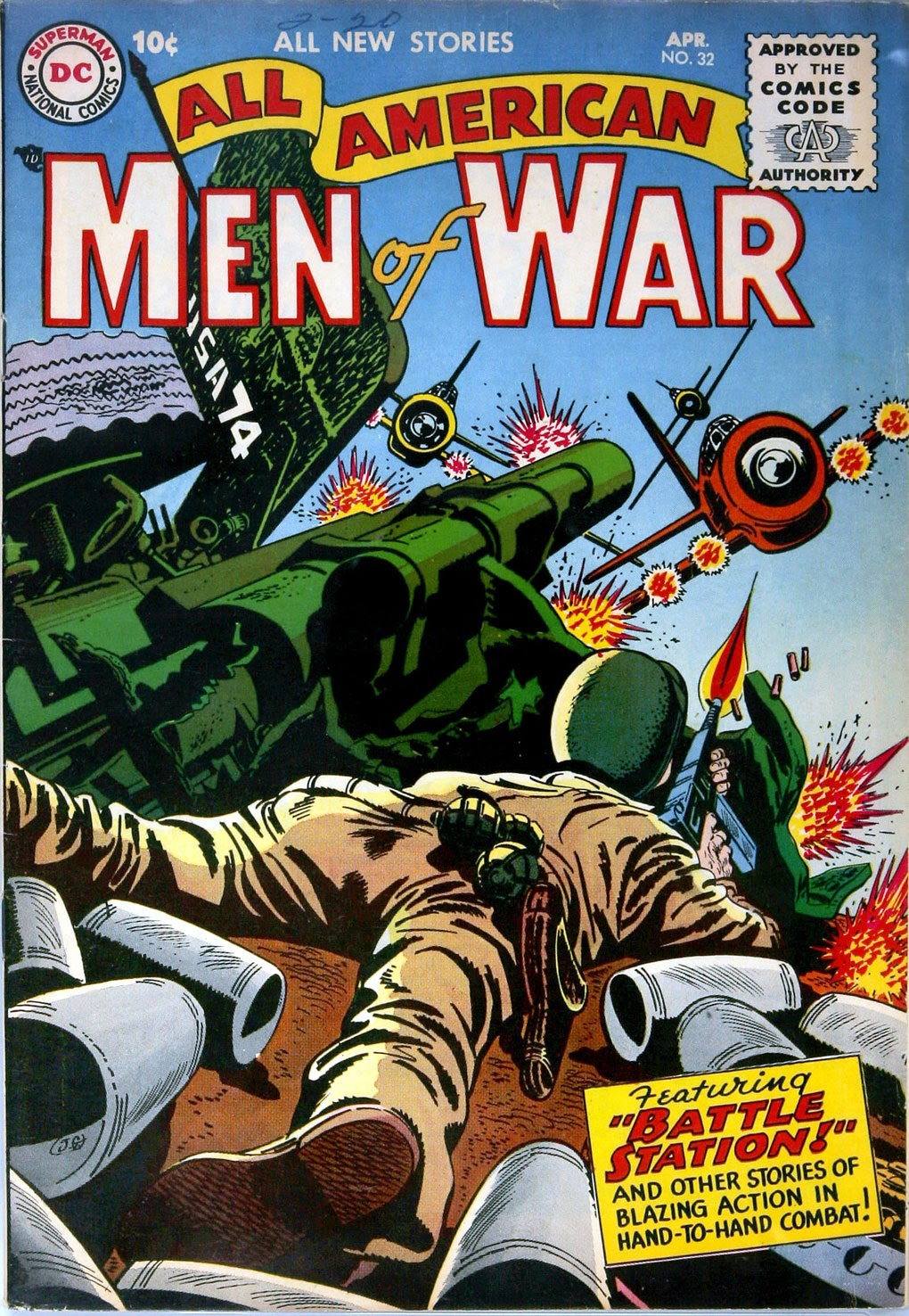 All-American Men of War 32 Page 1
