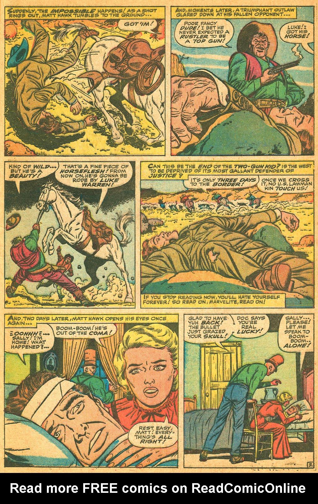 Read online Two-Gun Kid comic -  Issue #87 - 5