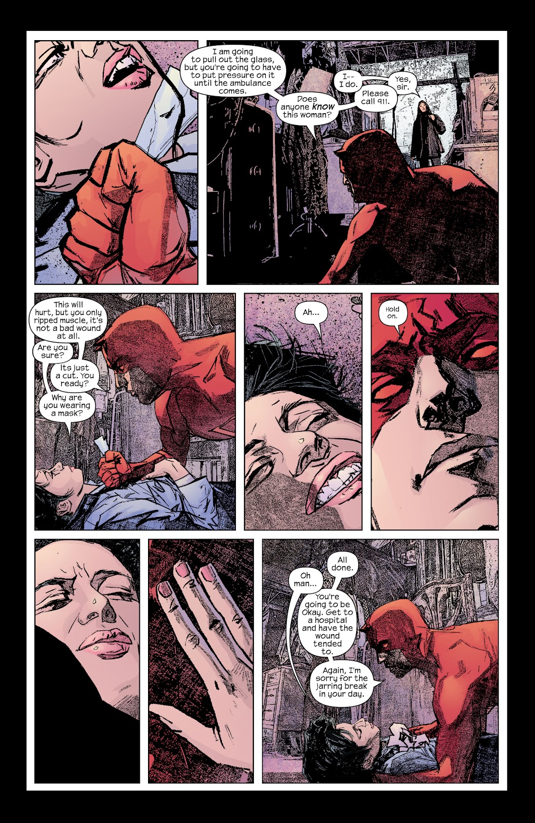 Read online Daredevil (1998) comic -  Issue # _Ultimate_Collection TPB 2 (Part 1) - 9