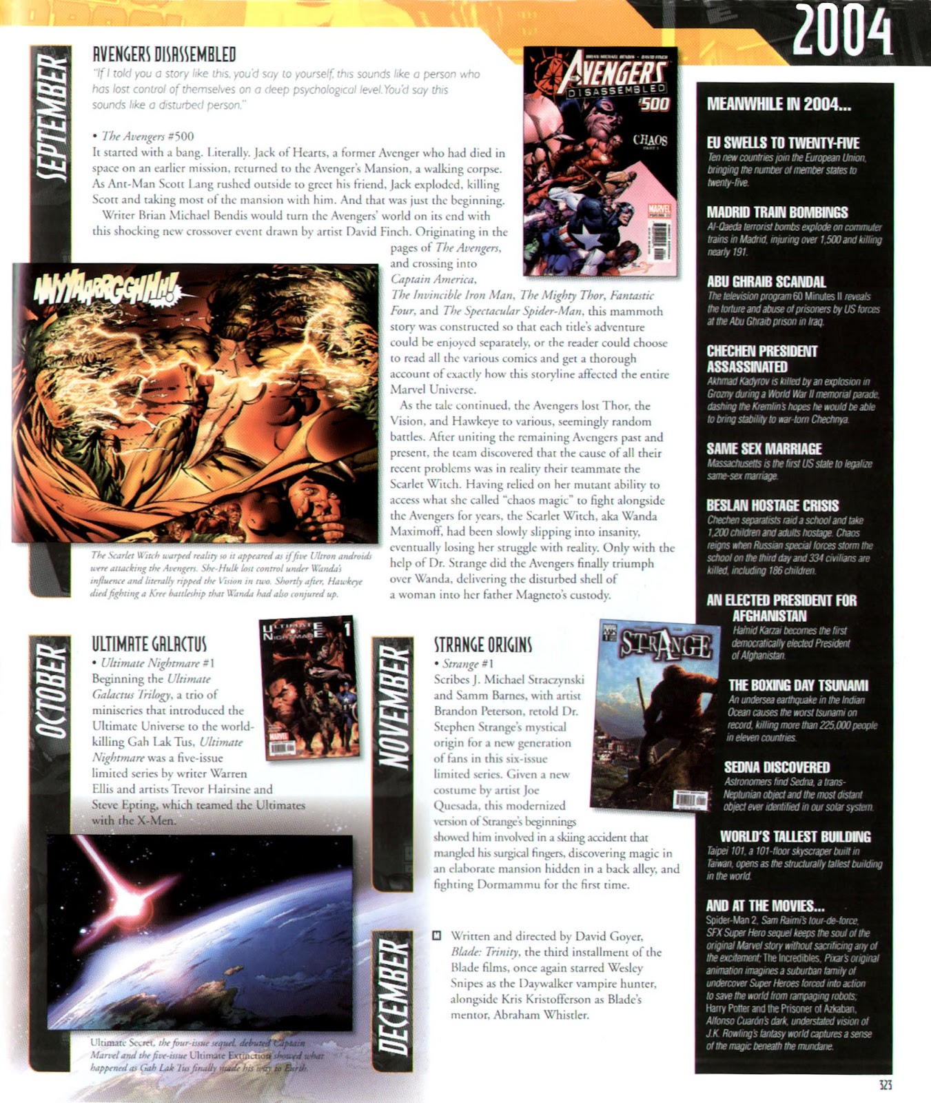 Read online Marvel Chronicle comic -  Issue # TPB (Part 3) - 100