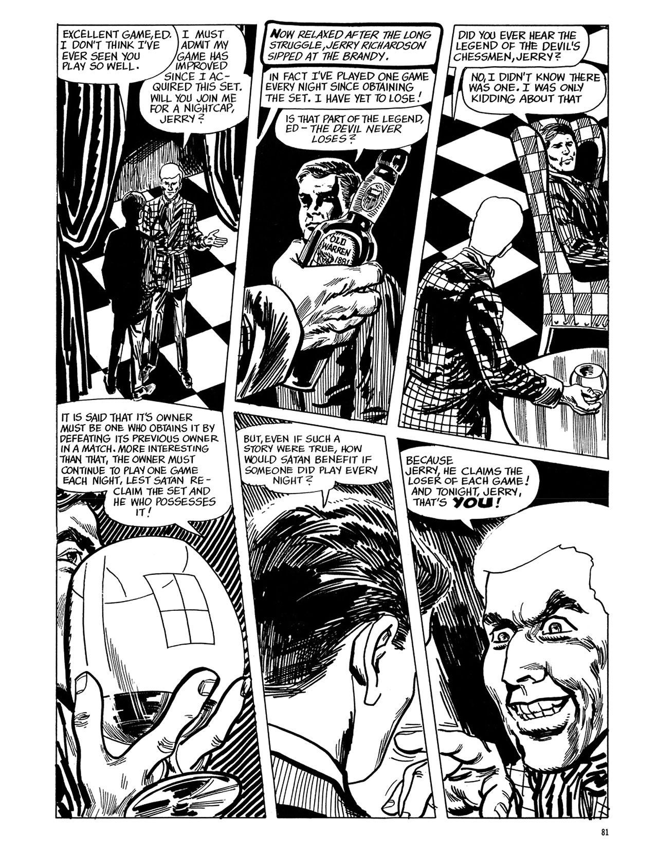 Read online Eerie Archives comic -  Issue # TPB 5 - 82