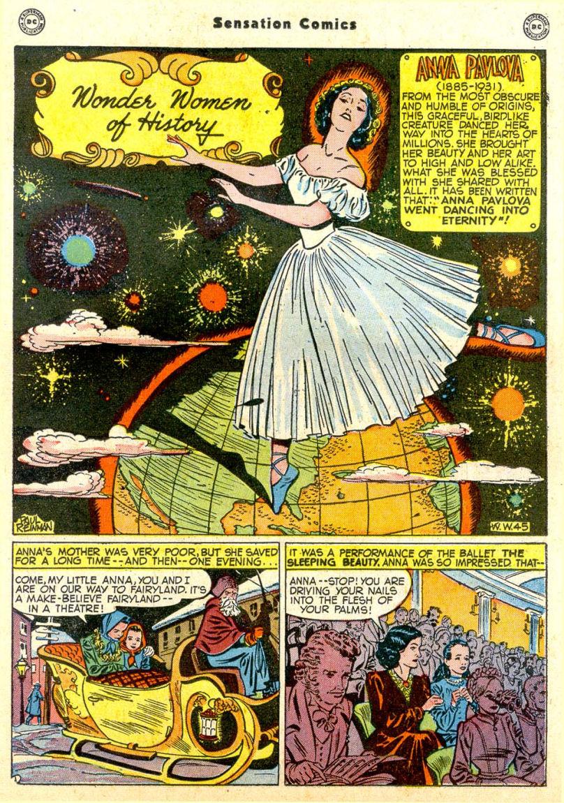 Read online Sensation (Mystery) Comics comic -  Issue #85 - 34