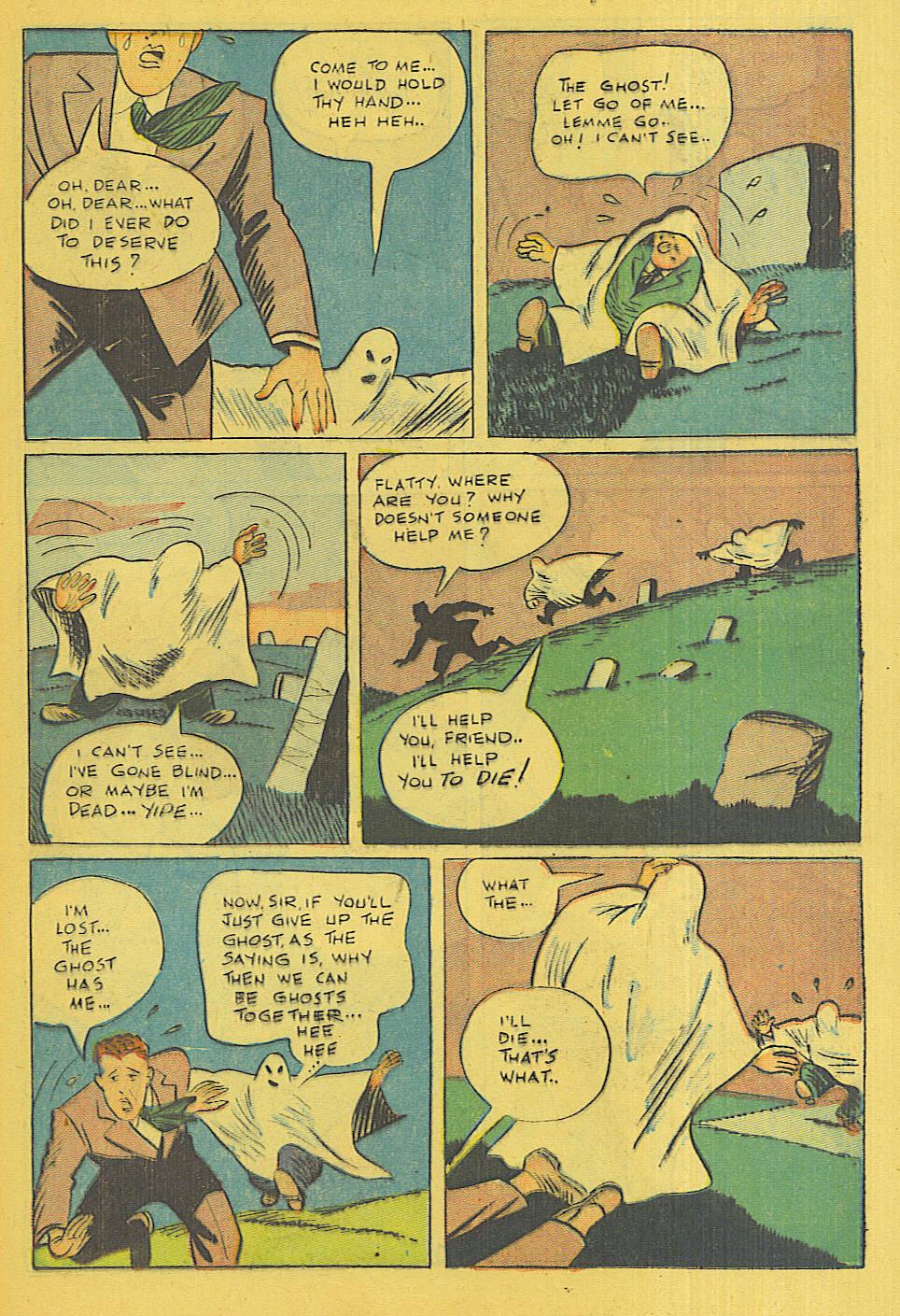 Read online Shadow Comics comic -  Issue #71 - 29