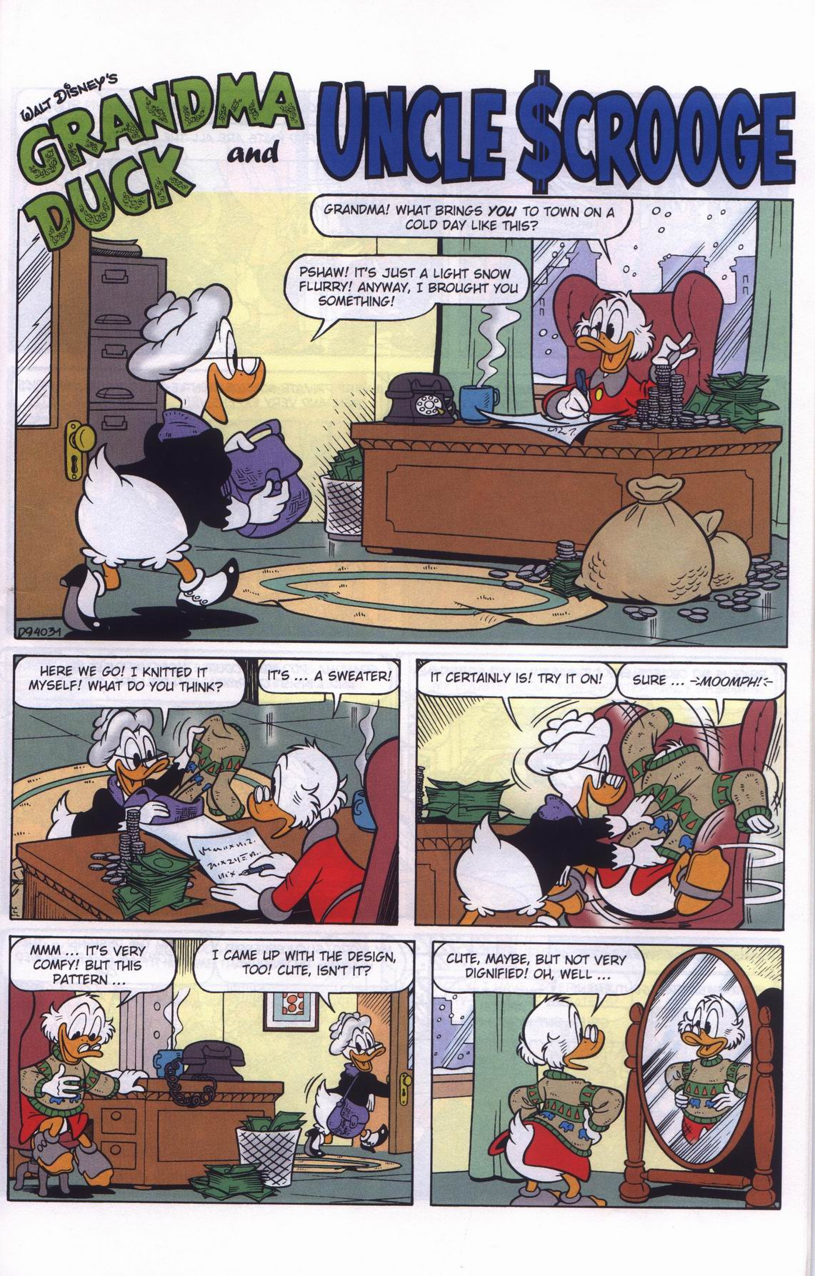 Read online Uncle Scrooge (1953) comic -  Issue #311 - 51