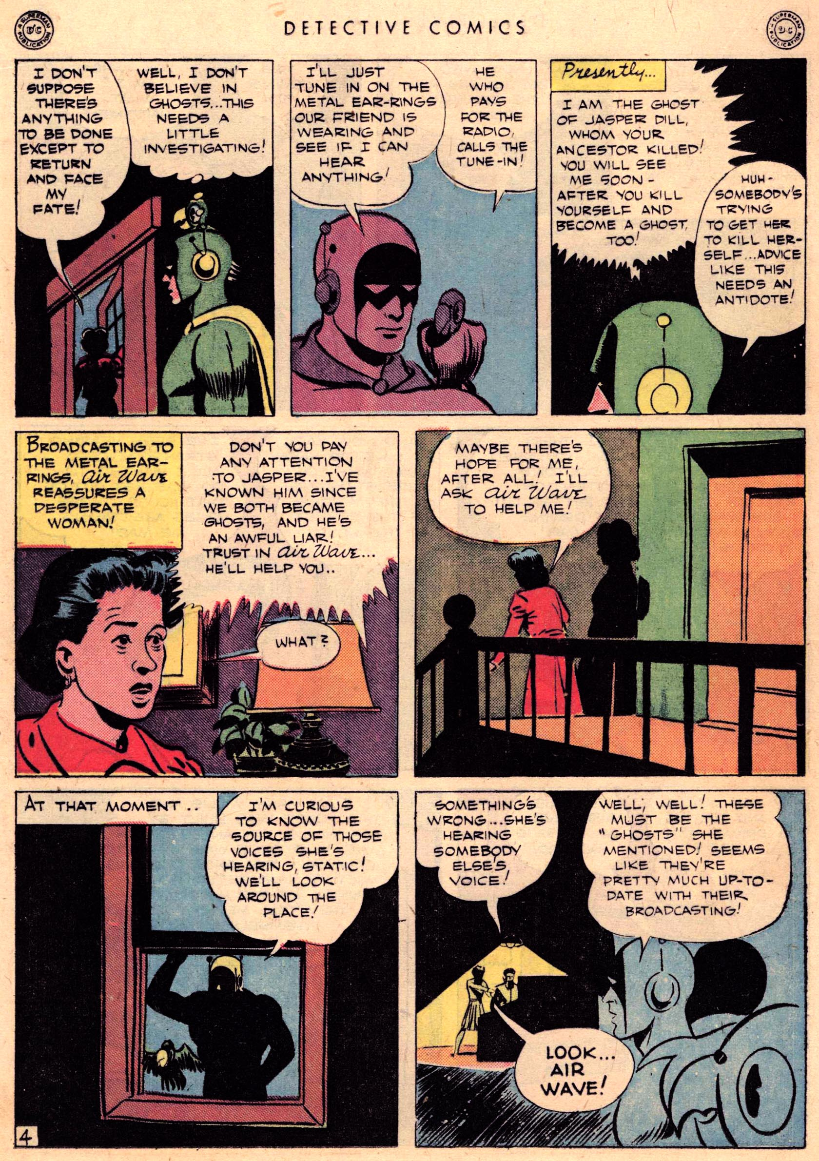 Read online Detective Comics (1937) comic -  Issue #95 - 34