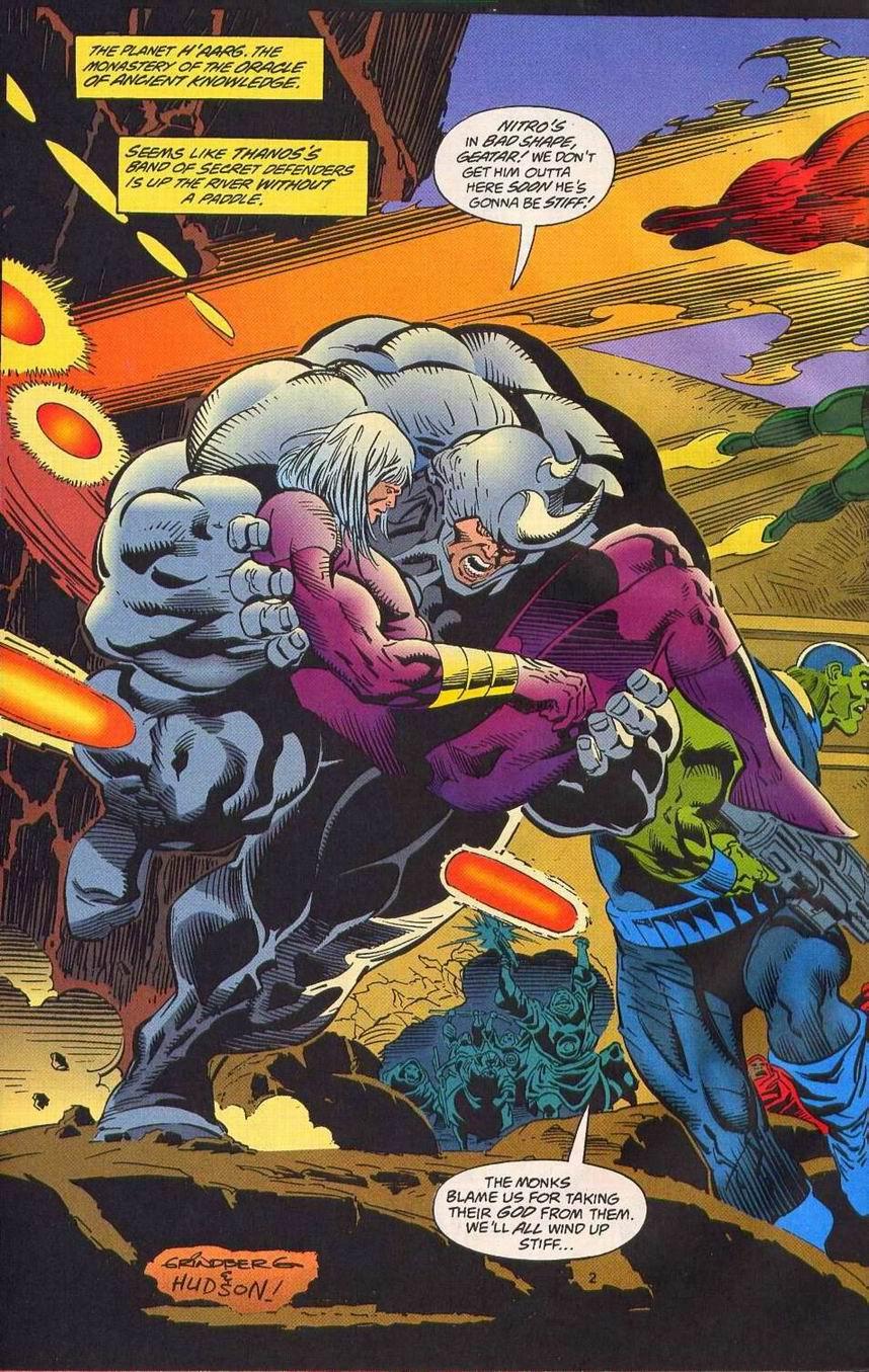 Read online Secret Defenders comic -  Issue #14 - 3