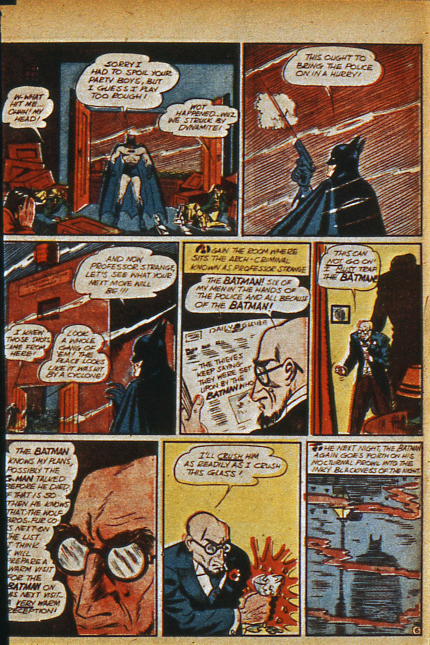 Read online Detective Comics (1937) comic -  Issue #36 - 10