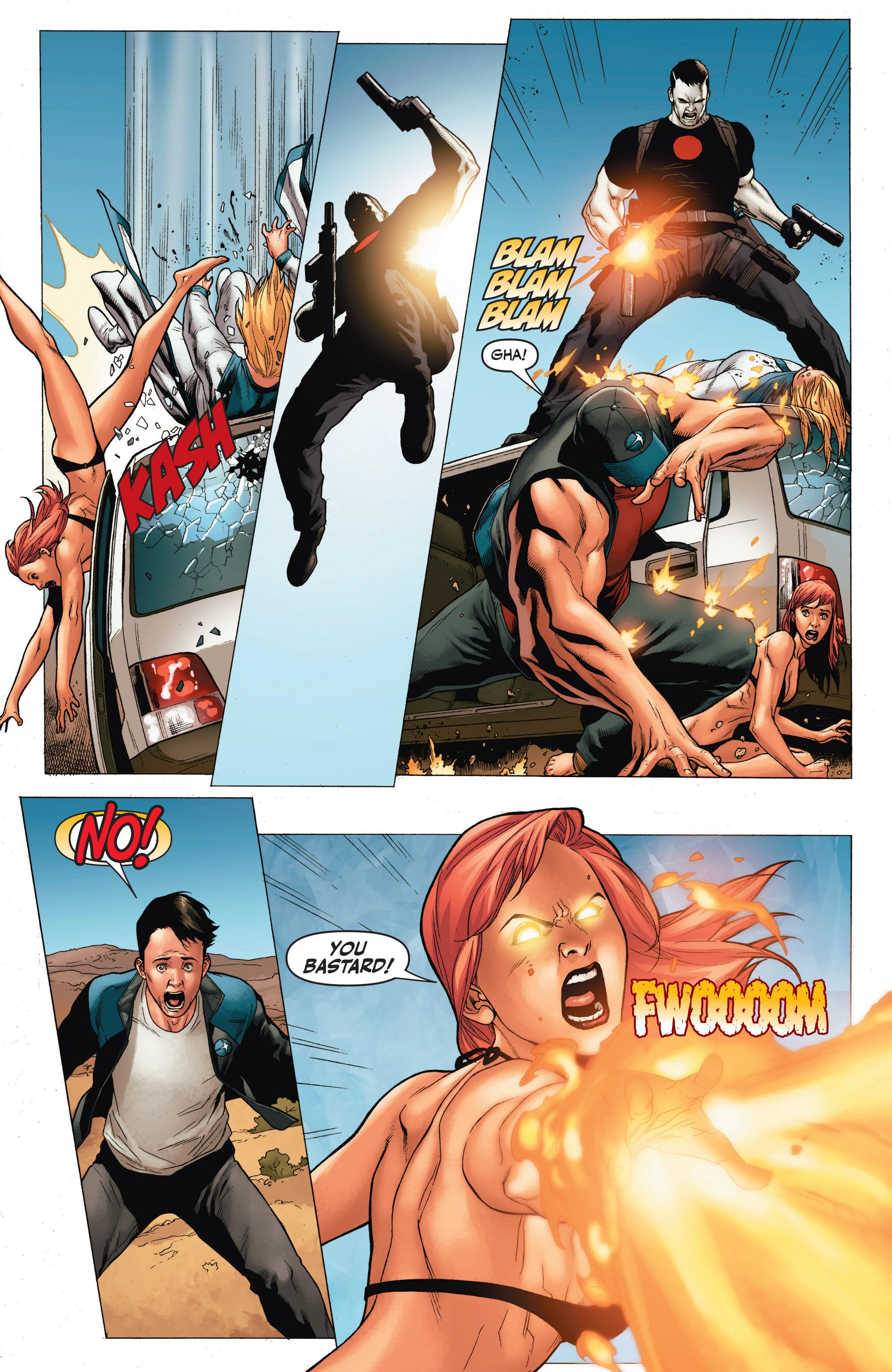 Read online Armor Hunters: Harbinger comic -  Issue # TPB - 89
