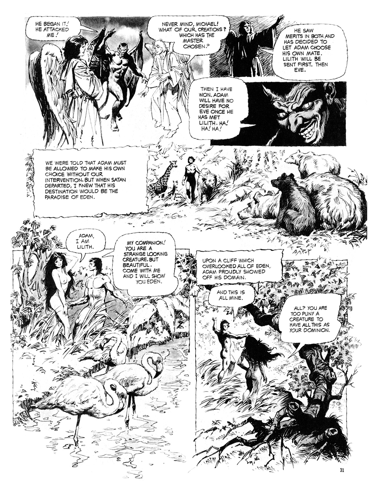 Read online Eerie Archives comic -  Issue # TPB 10 - 32