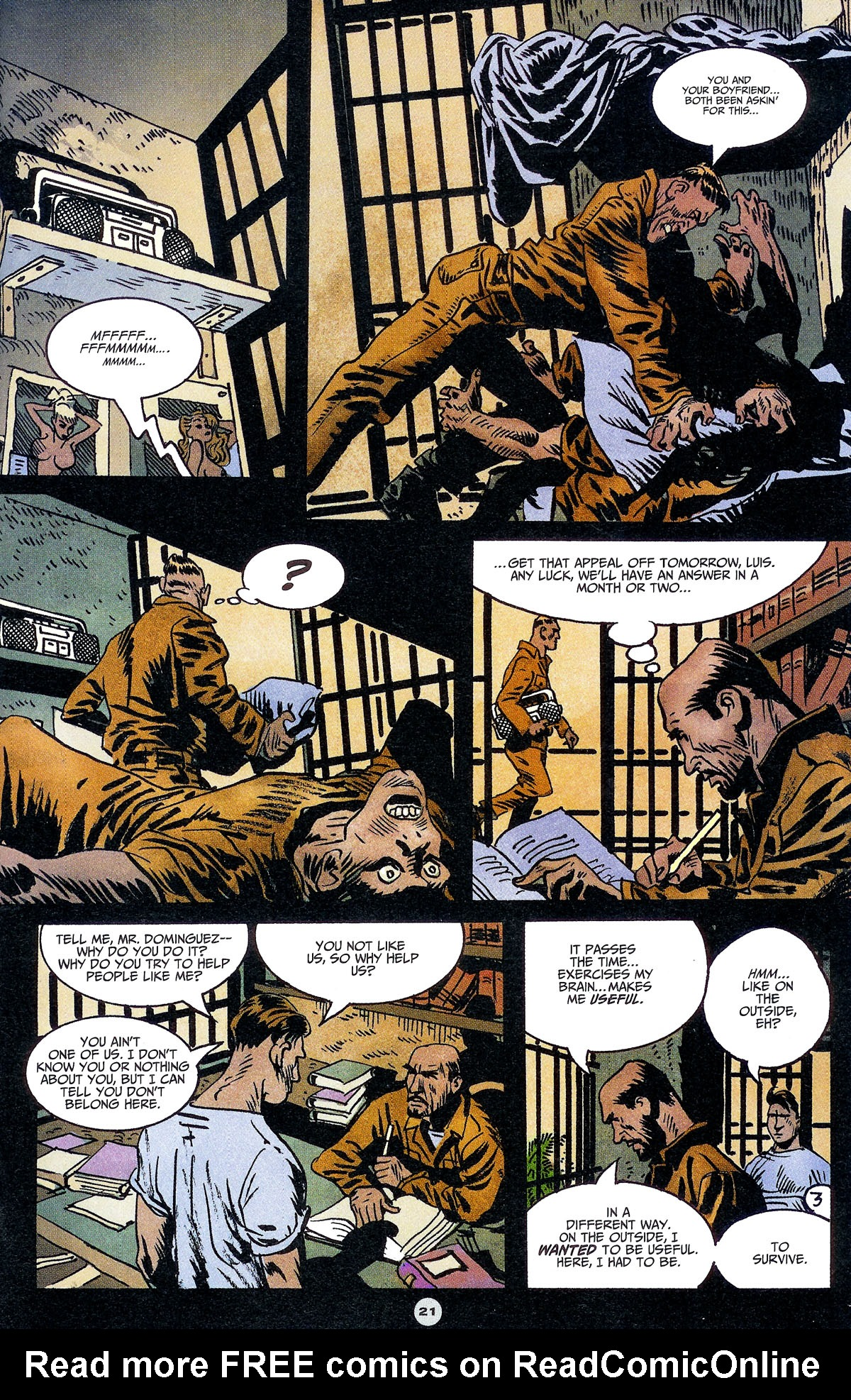 Read online Solo (2004) comic -  Issue #6 - 22
