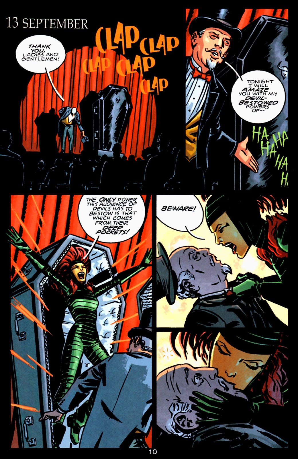 Read online Beware The Creeper (2003) comic -  Issue #3 - 10