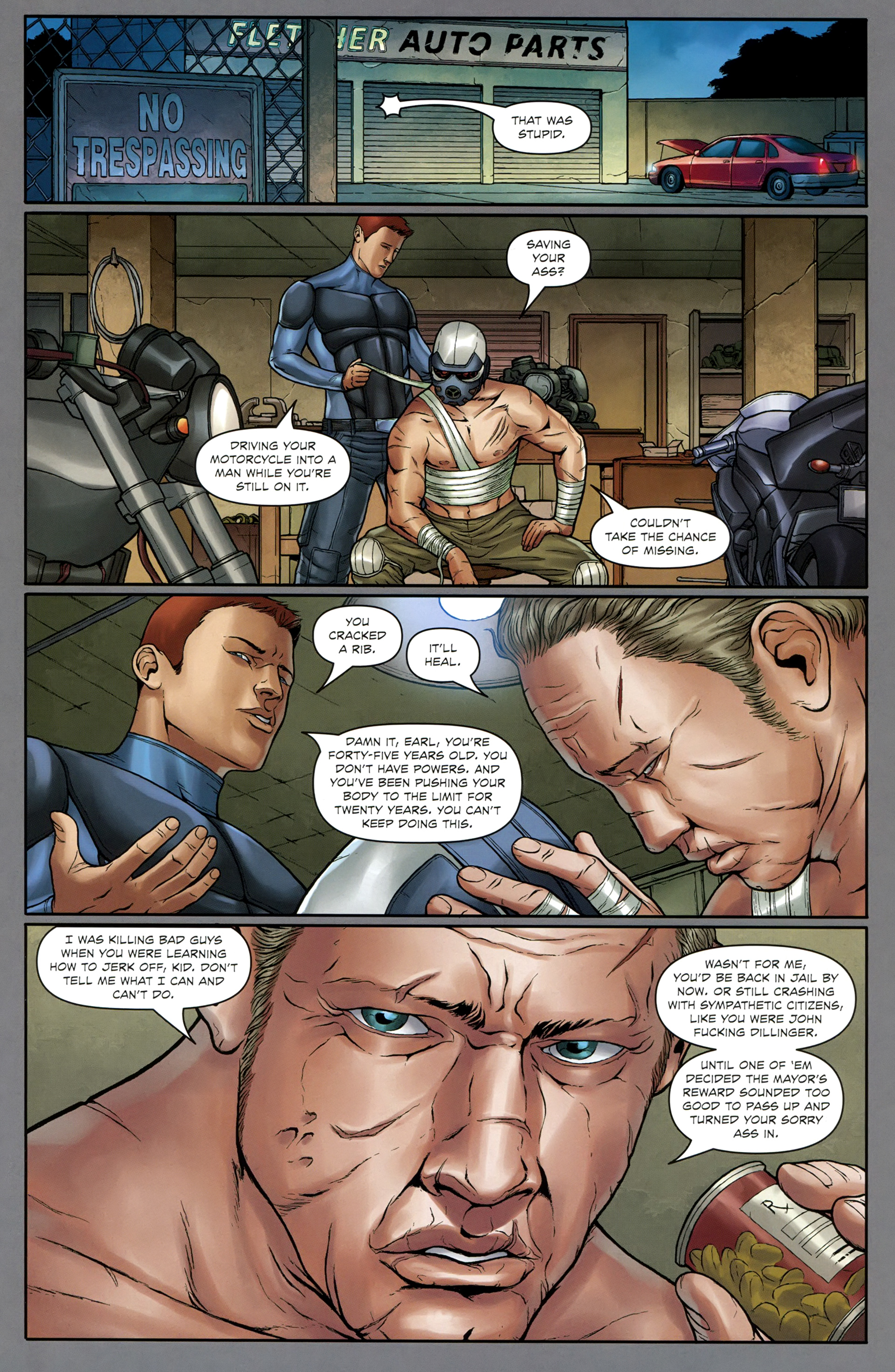 Read online Absolution: Rubicon comic -  Issue #1 - 21