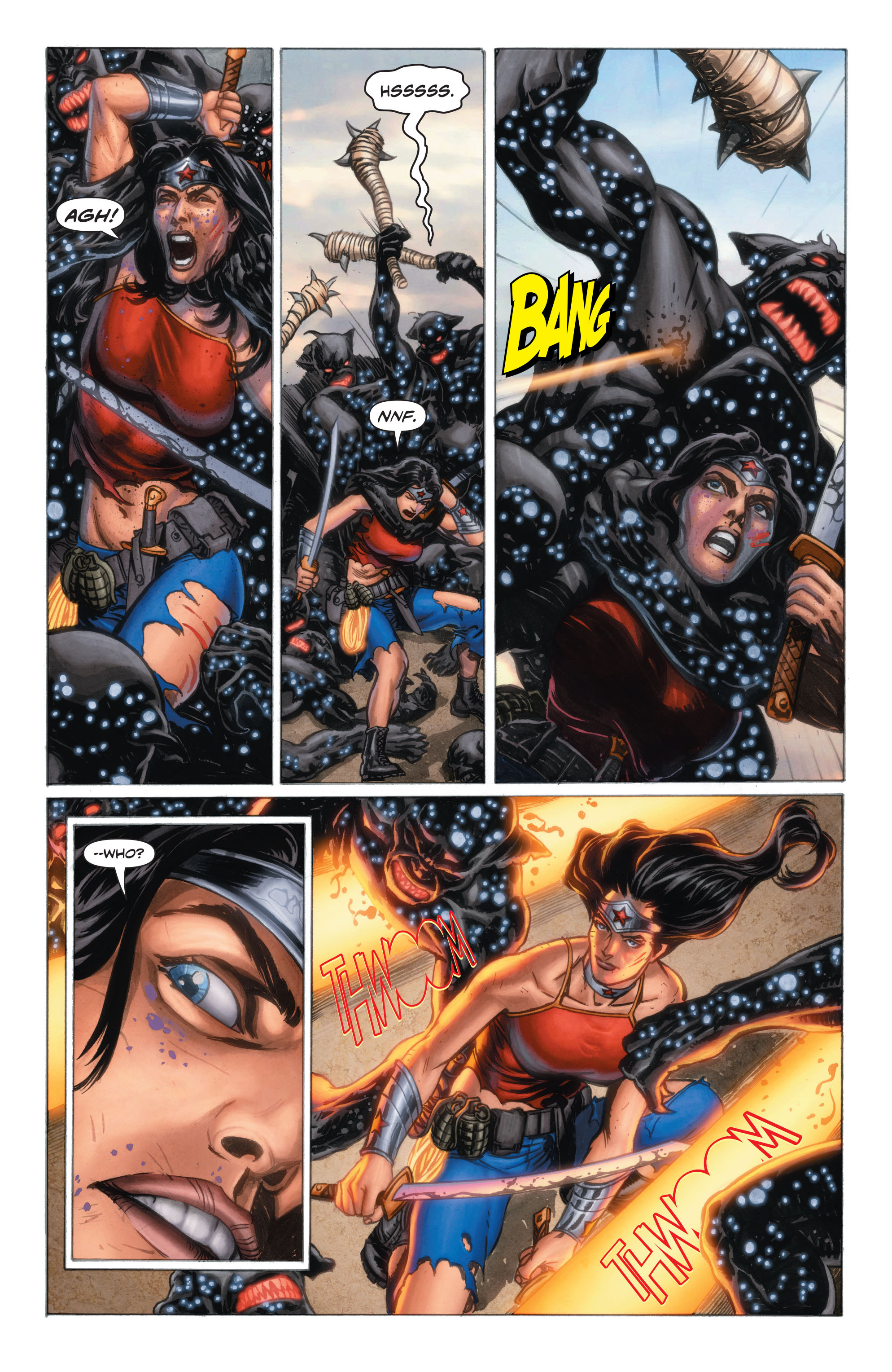 Read online Wonder Woman: Futures End comic -  Issue # Full - 9