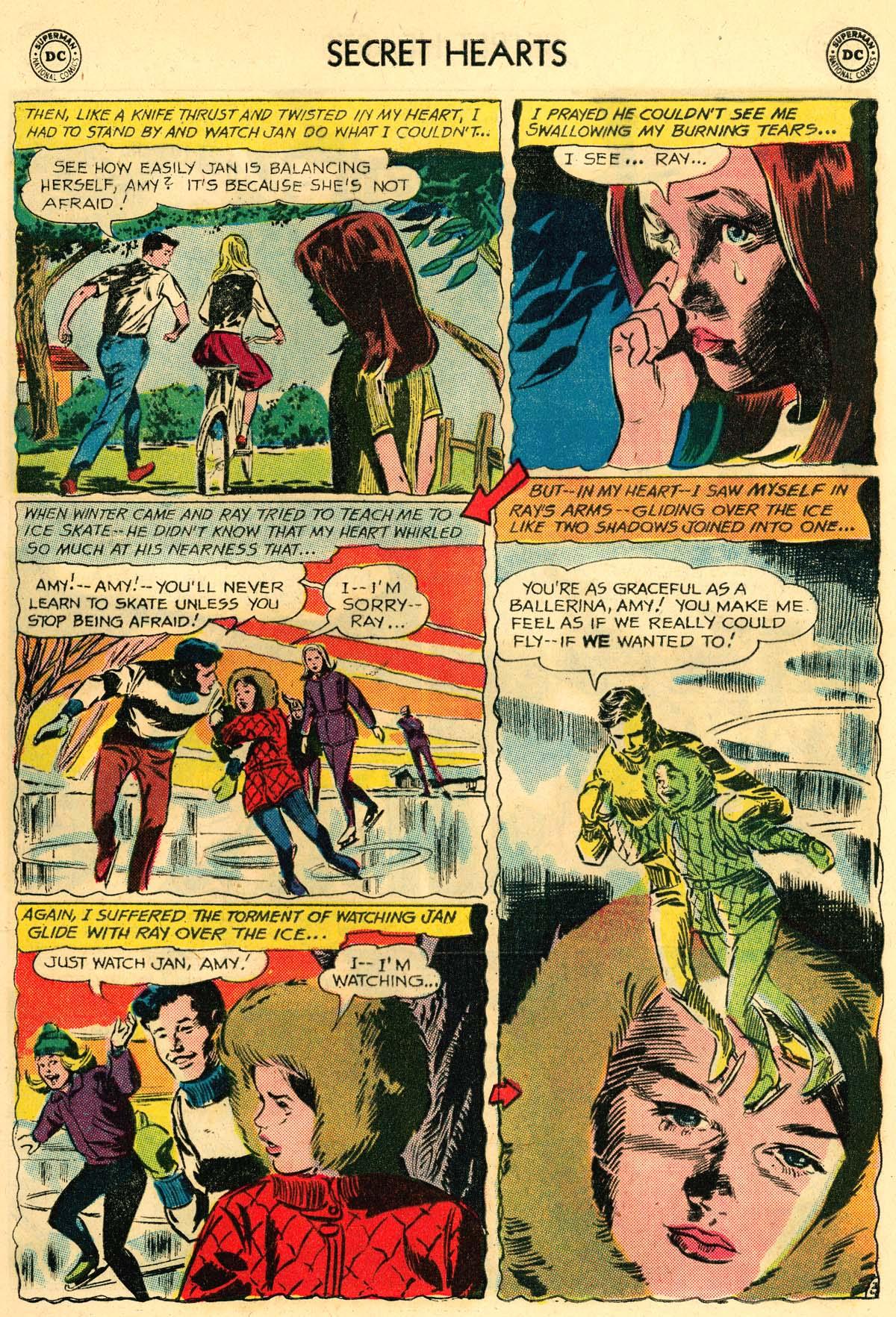 Read online Secret Hearts comic -  Issue #106 - 5