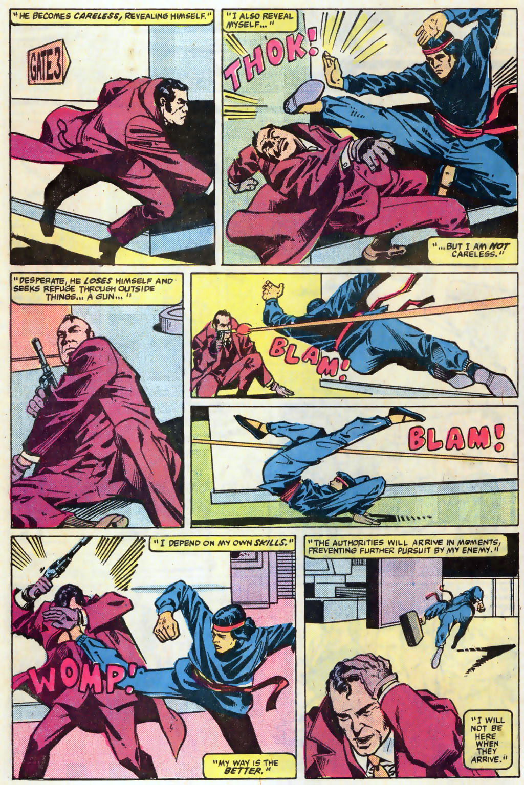 Read online Master of Kung Fu (1974) comic -  Issue #121 - 7