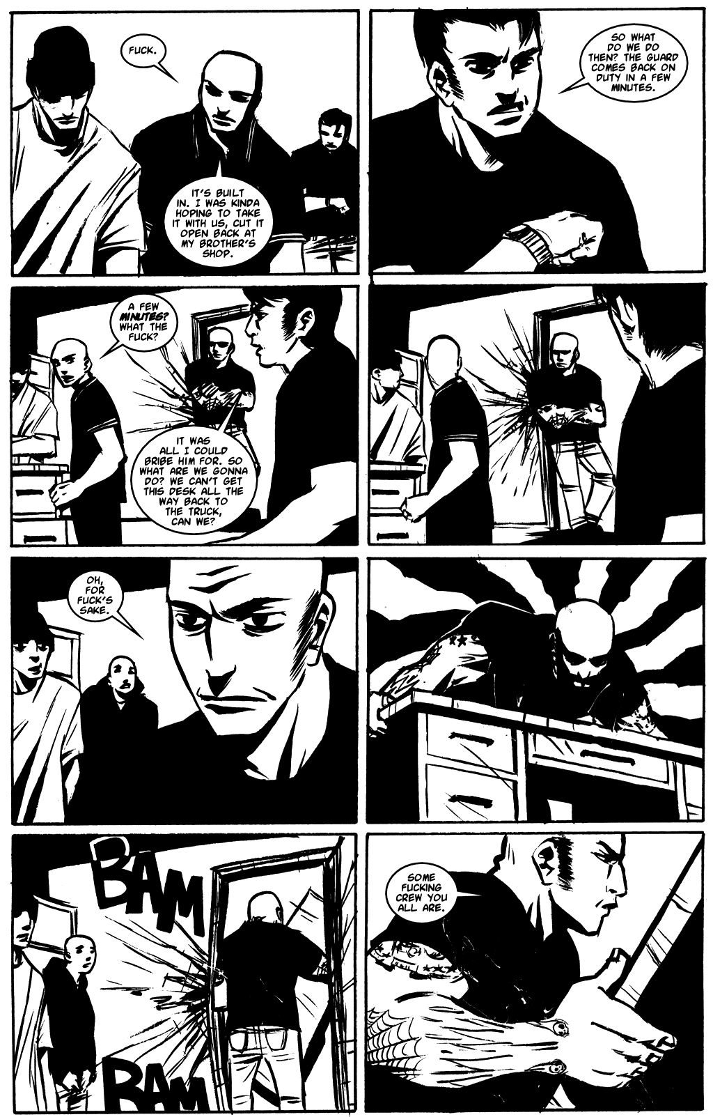 Read online Demo comic -  Issue #4 - 17