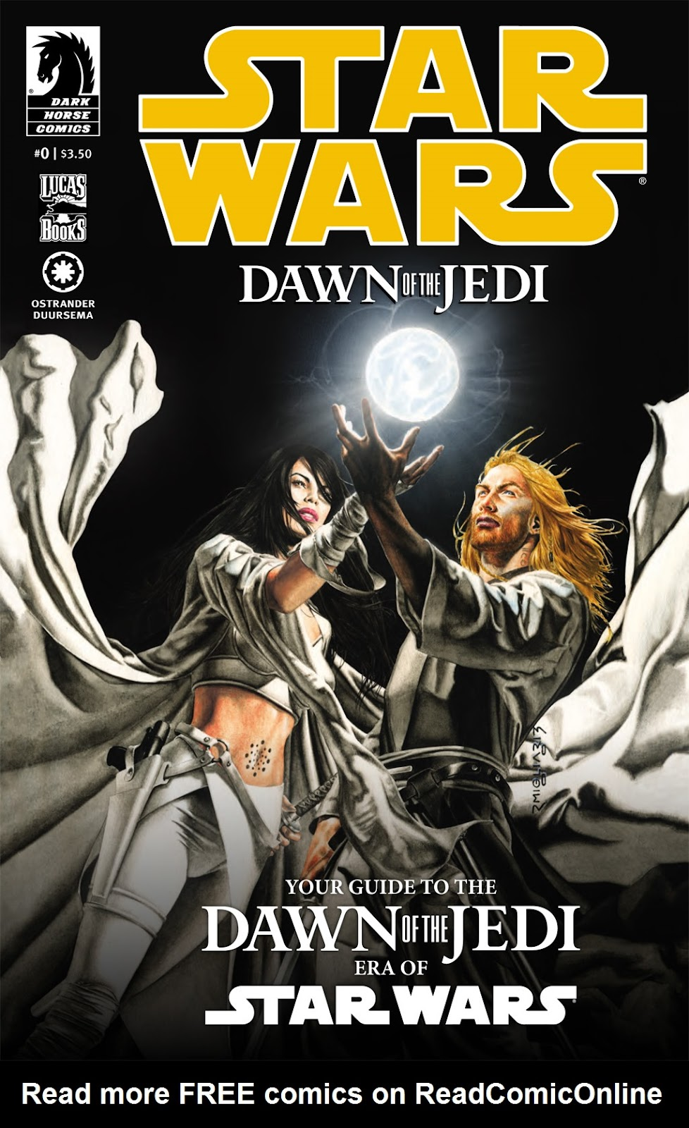 Star Wars: Dawn Of The Jedi - Force Storm 0 Page 1