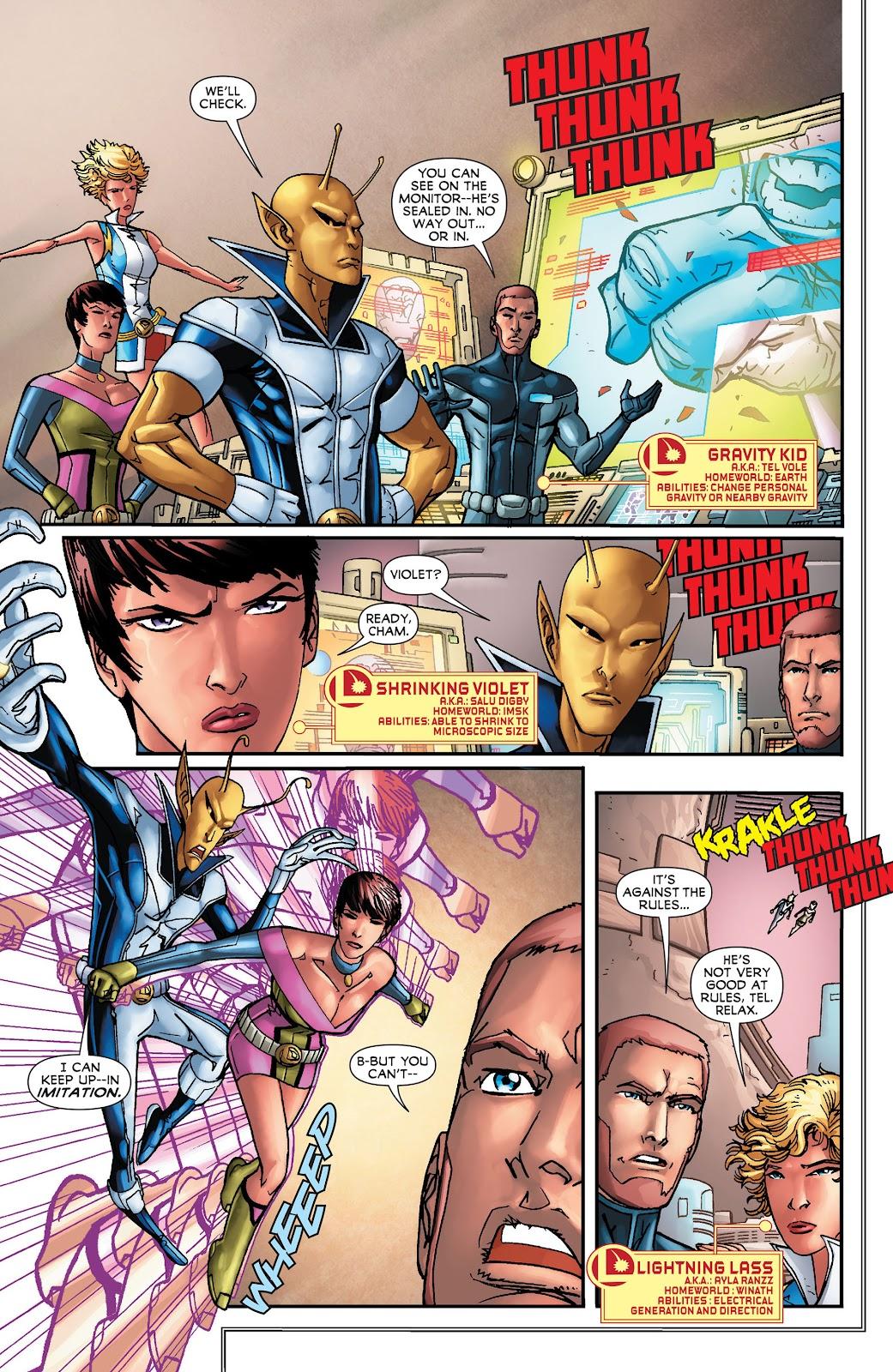 Legion of Super-Heroes (2011) Issue #16 #17 - English 6