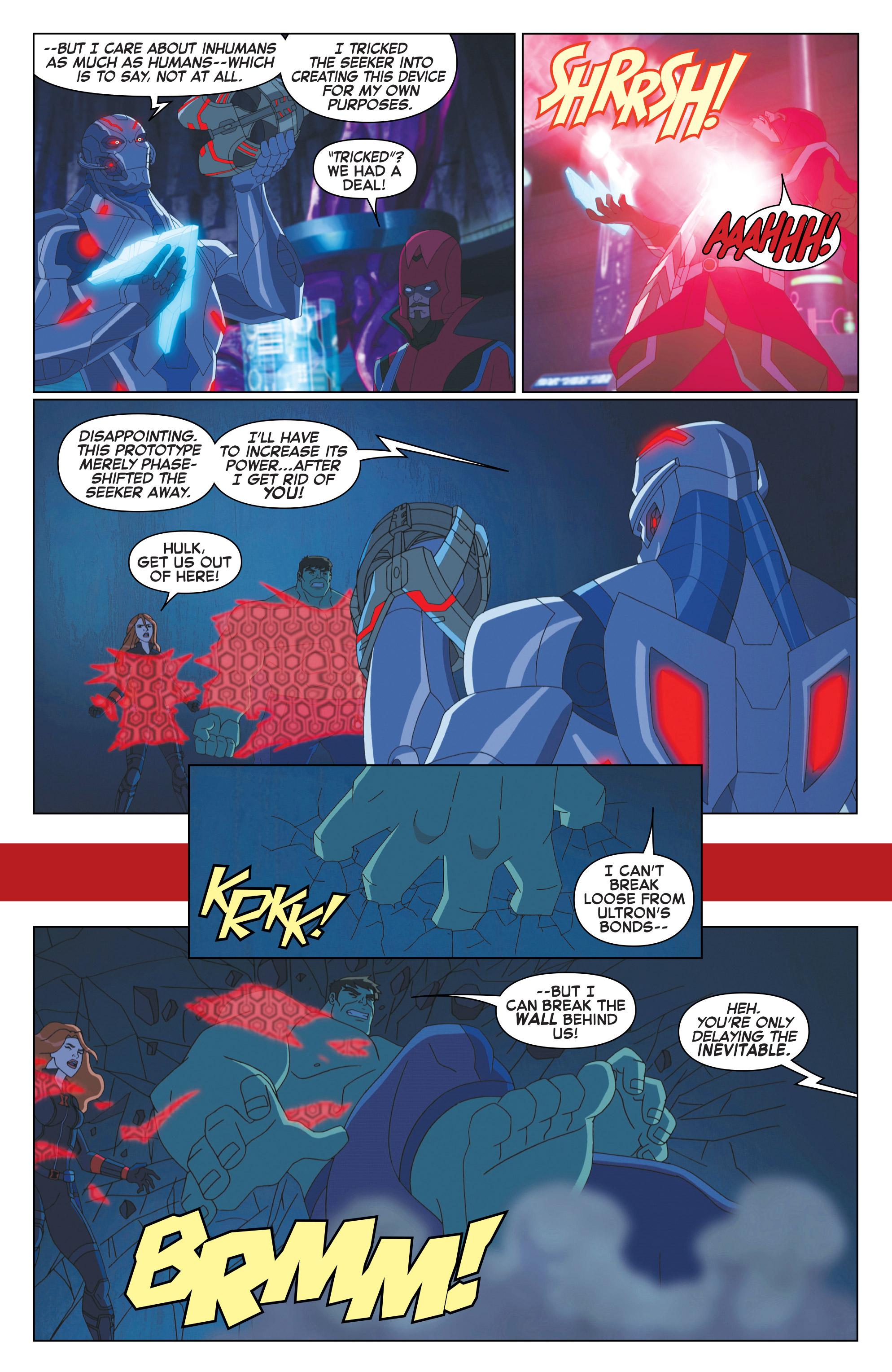 Read online Marvel Universe Avengers: Ultron Revolution comic -  Issue #10 - 9