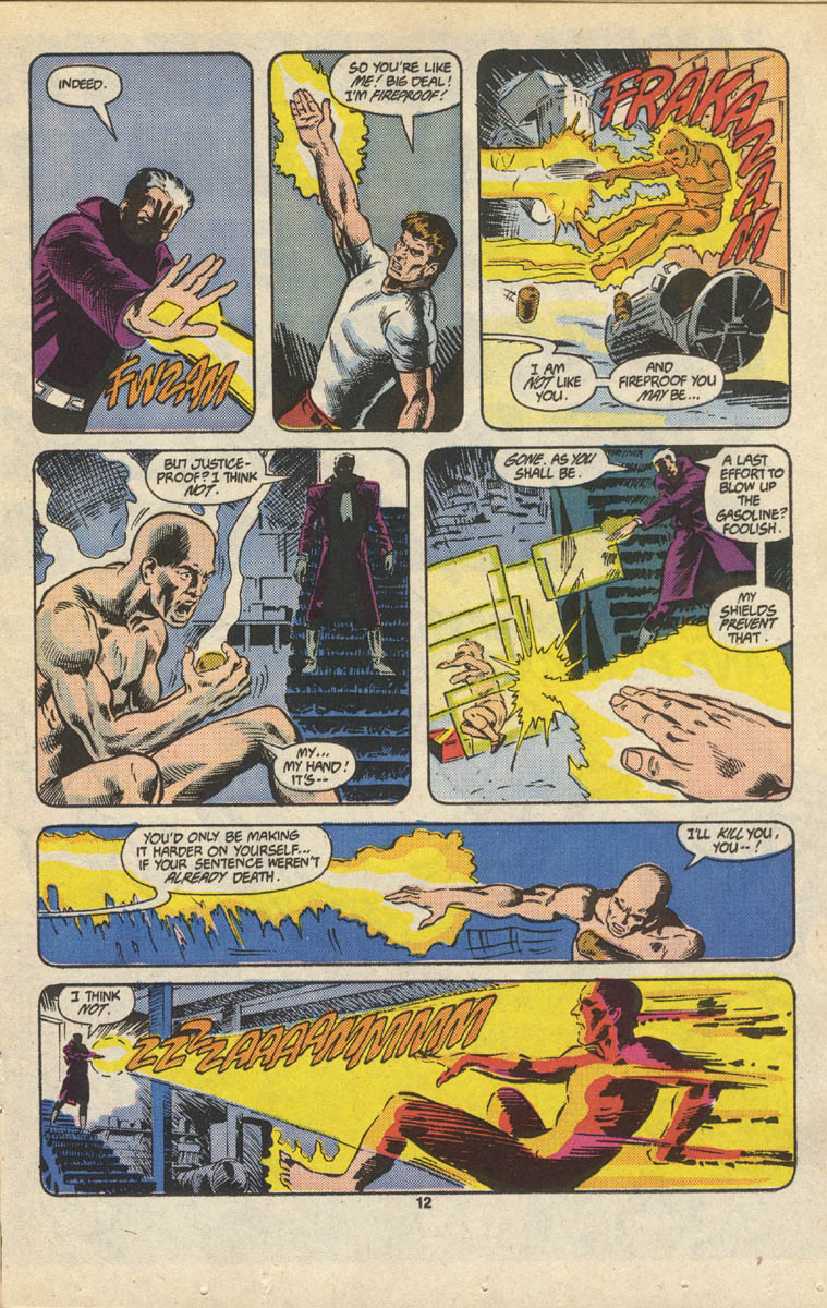 Read online Justice (1986) comic -  Issue #16 - 13