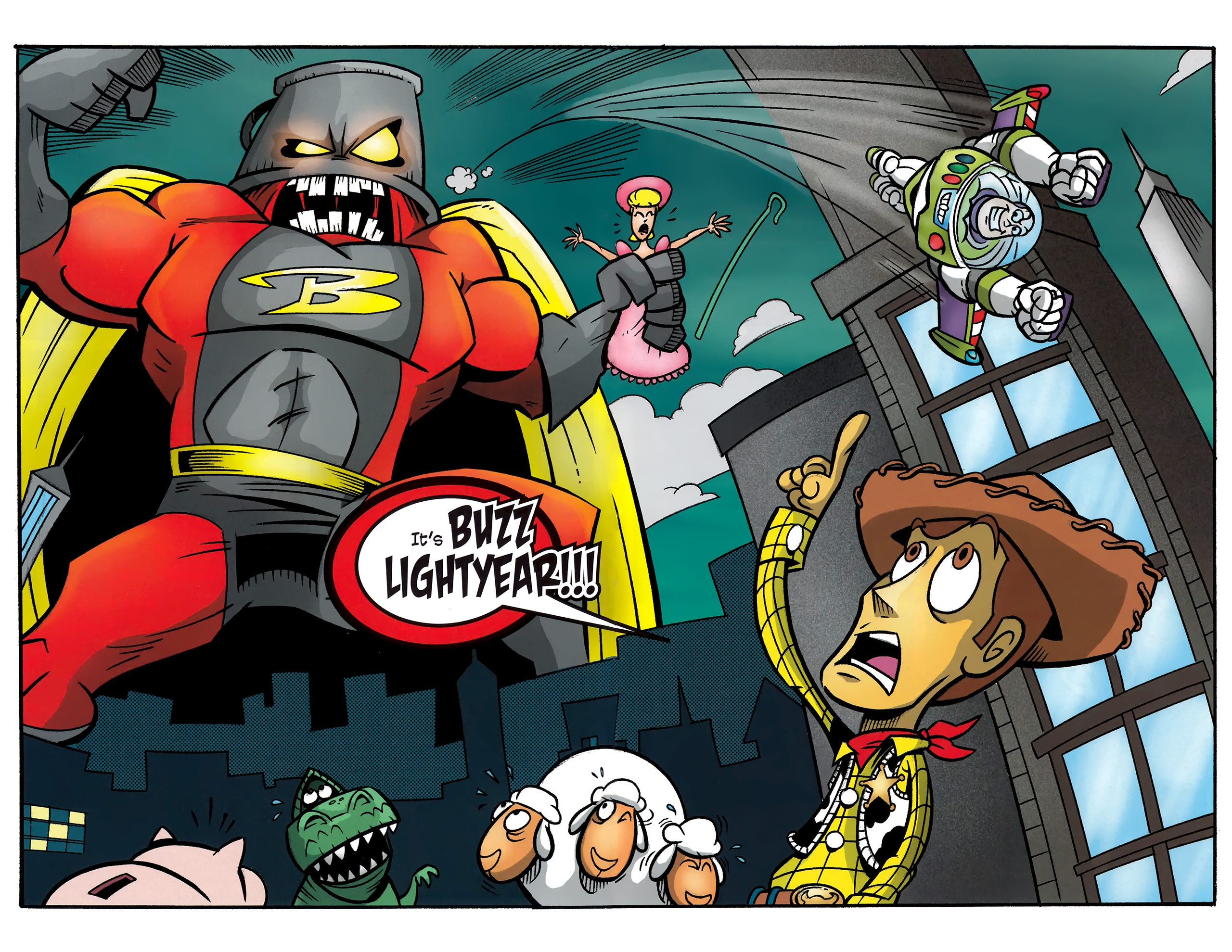 Read online Toy Story (2009) comic -  Issue #4 - 5