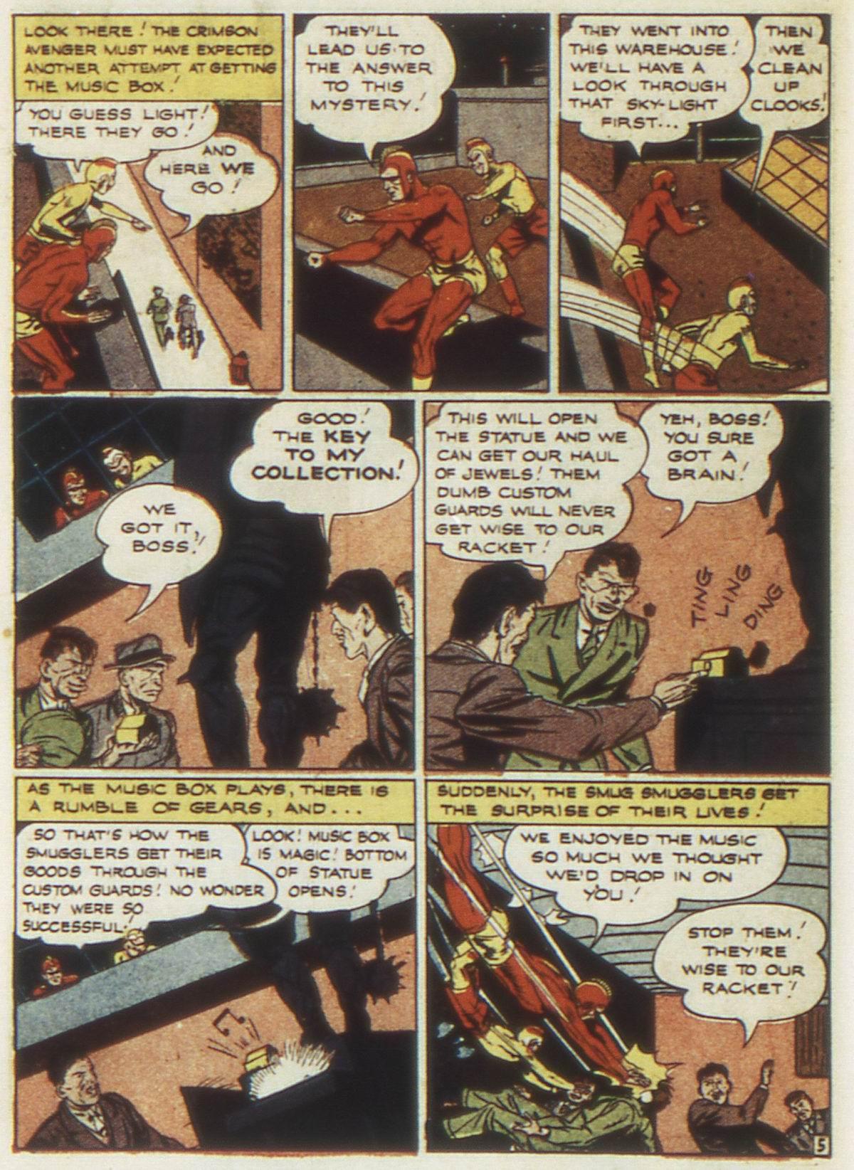 Read online Detective Comics (1937) comic -  Issue #87 - 34