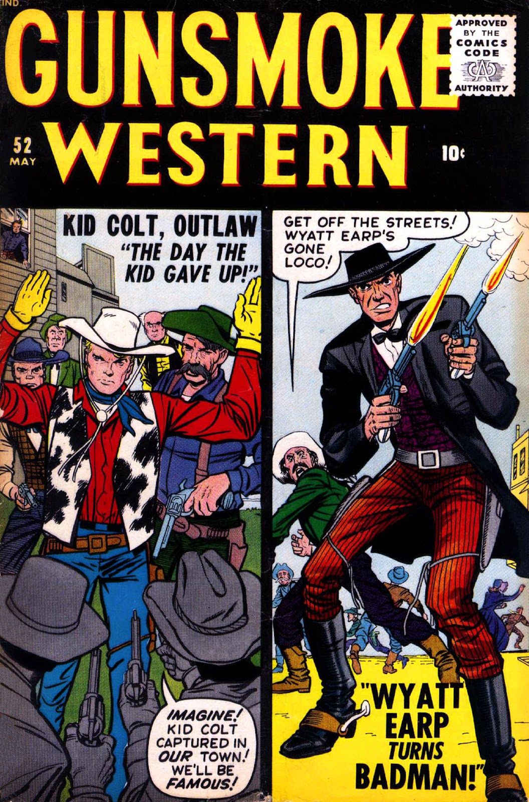 Gunsmoke Western issue 52 - Page 1