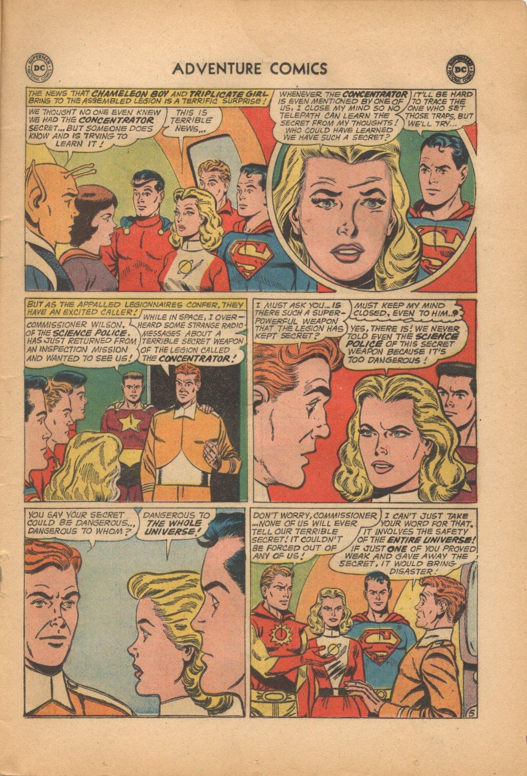 Read online Adventure Comics (1938) comic -  Issue #321 - 7
