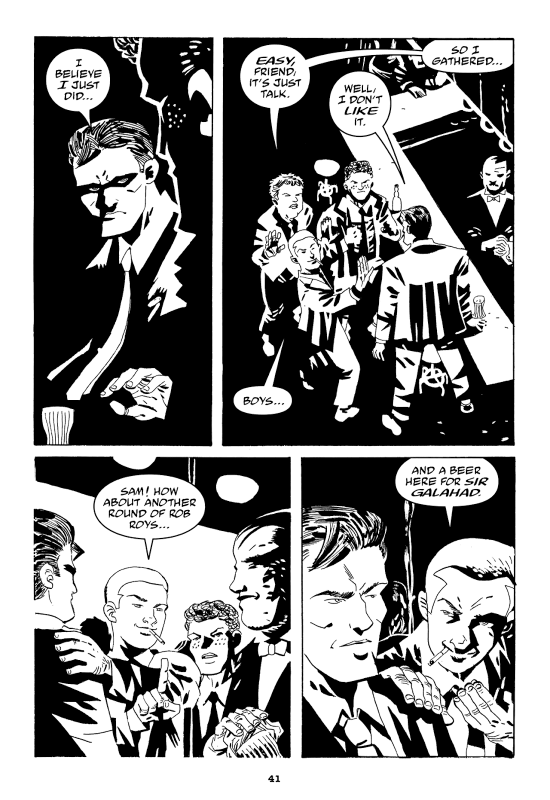Read online Filthy Rich comic -  Issue # TPB (Part 1) - 43