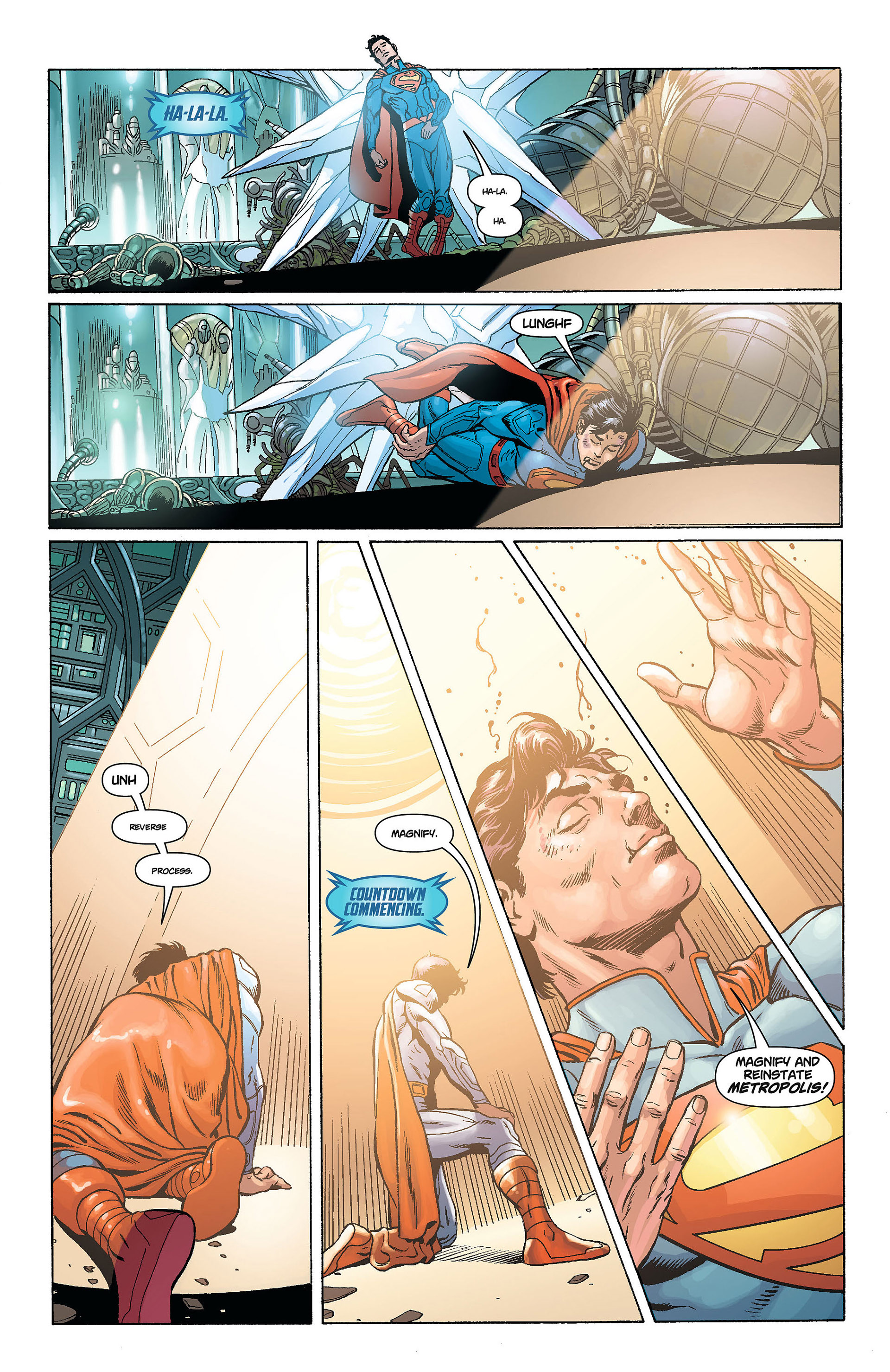 Read online Action Comics (2011) comic -  Issue #8 - 18