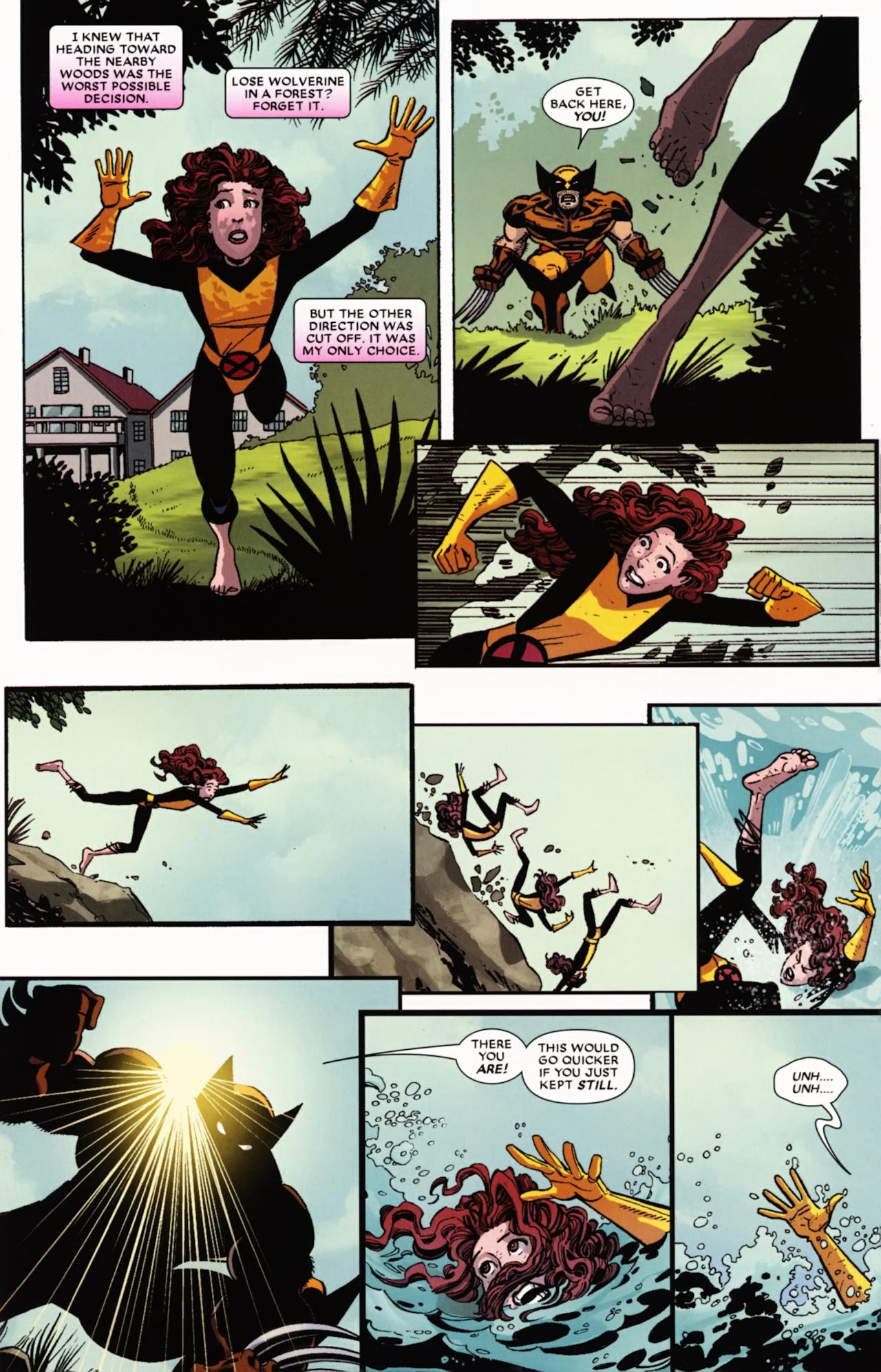 Read online Wolverine: First Class comic -  Issue #21 - 17