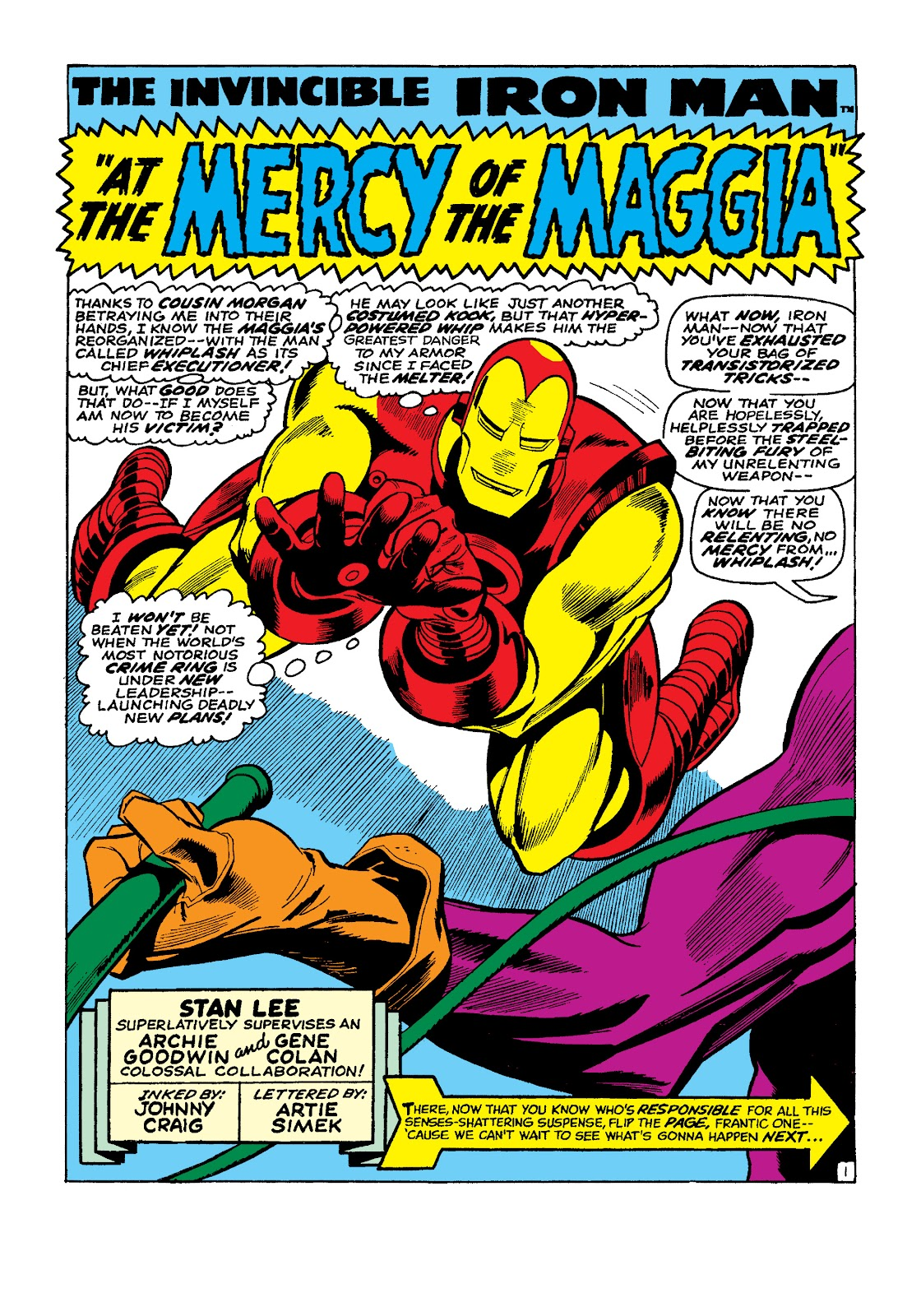 Read online Marvel Masterworks: The Invincible Iron Man comic -  Issue # TPB 4 (Part 3) - 1