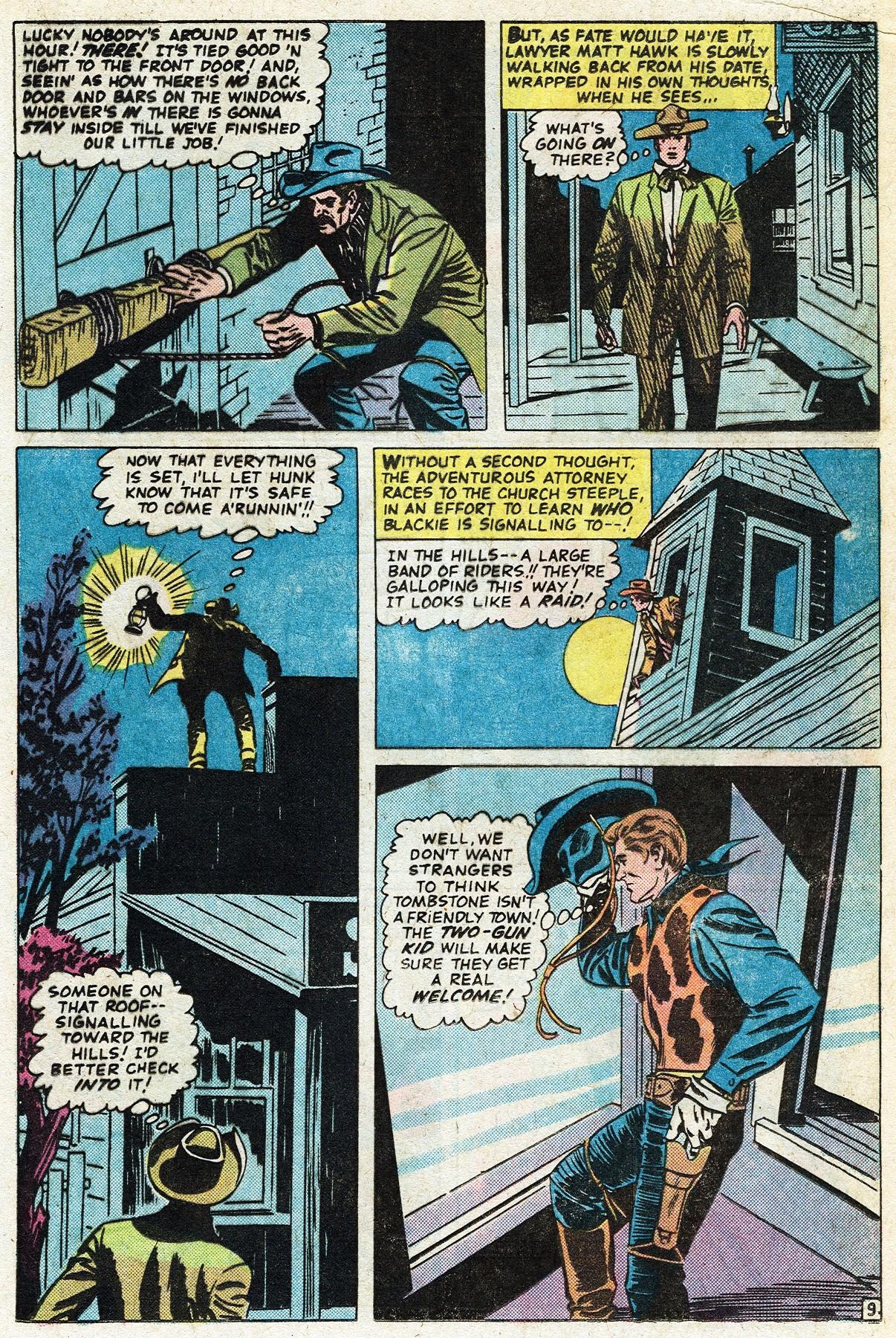 Read online Two-Gun Kid comic -  Issue #122 - 17