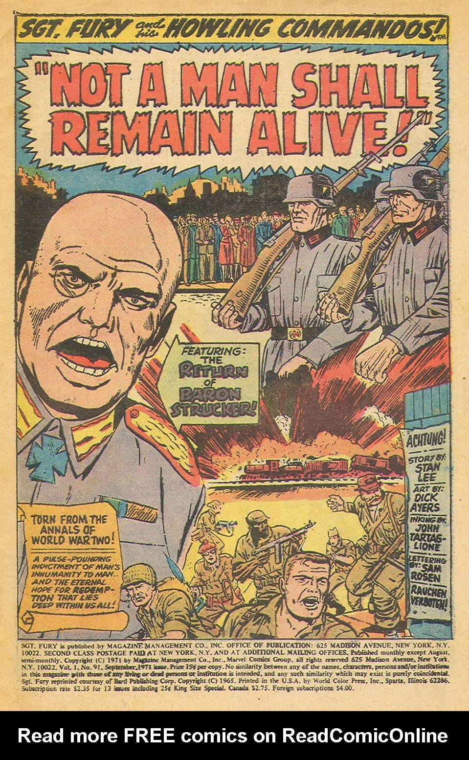 Read online Sgt. Fury comic -  Issue #91 - 3
