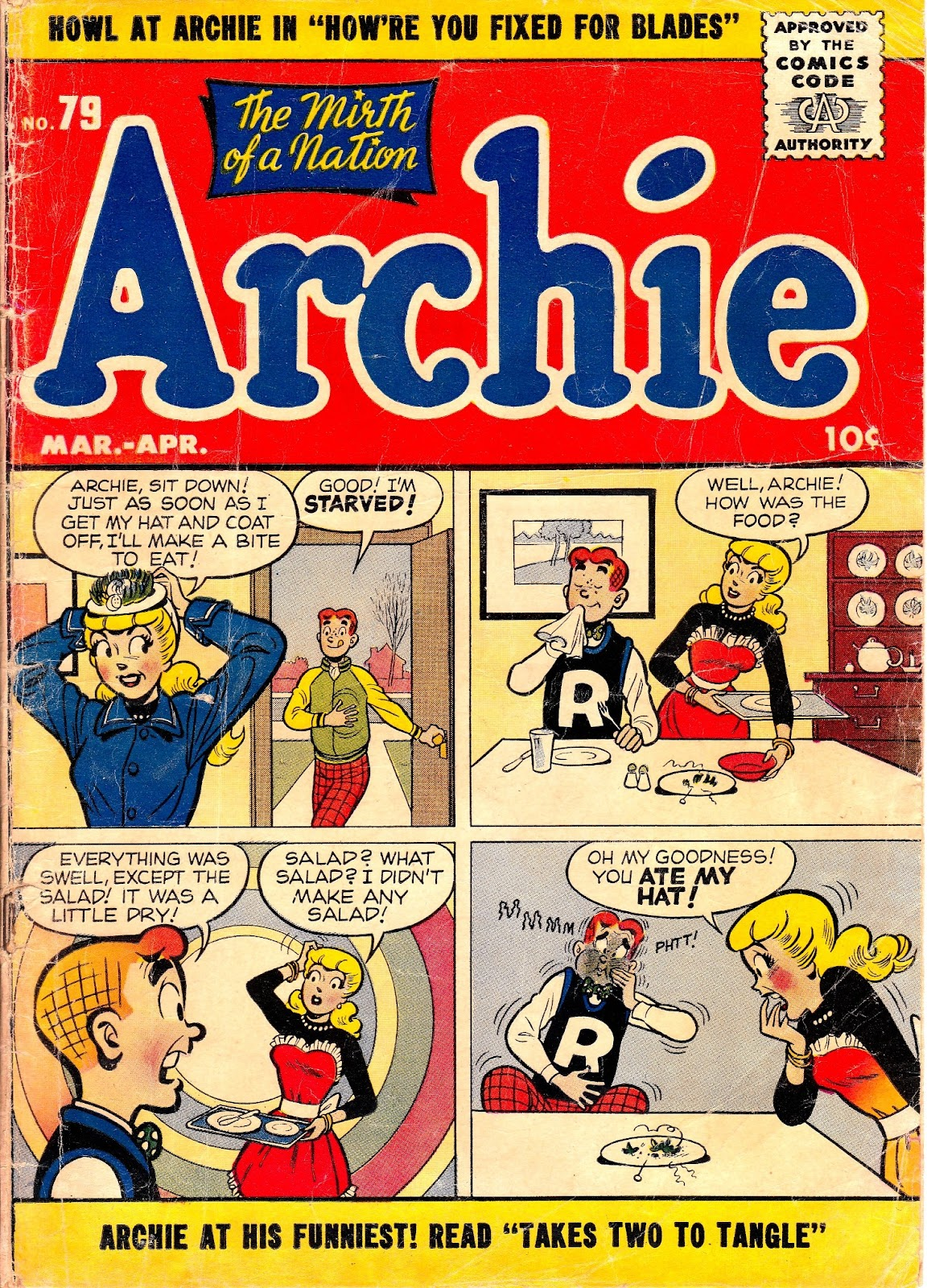 Archie Comics issue 079 - Page 1