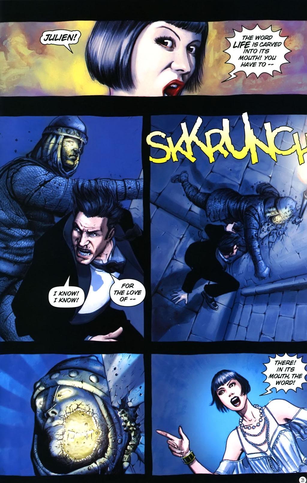 Read online Rex Mundi comic -  Issue #17 - 25