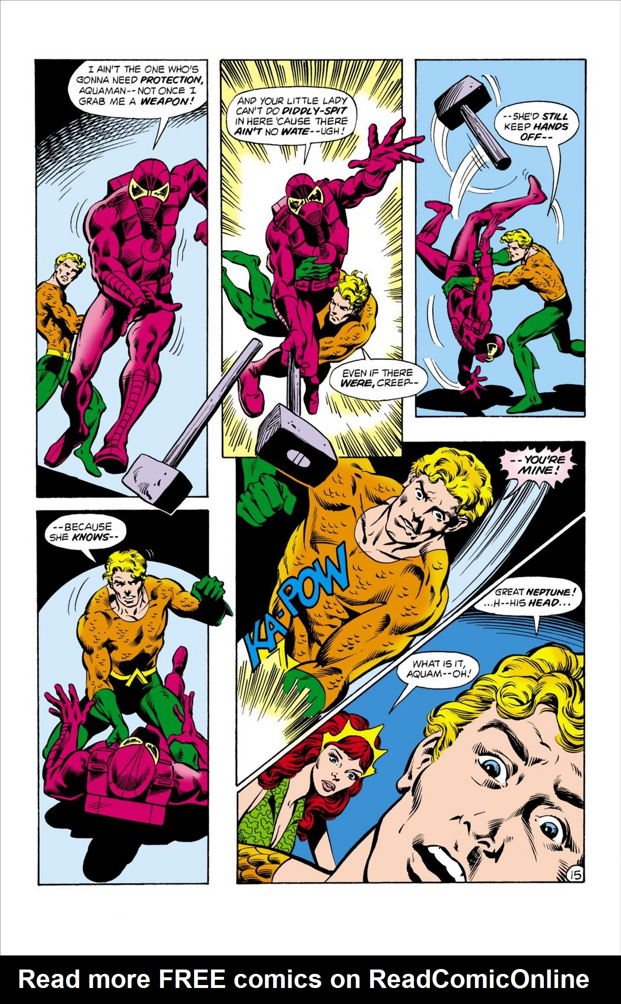 Read online Aquaman (1962) comic -  Issue #62 - 16