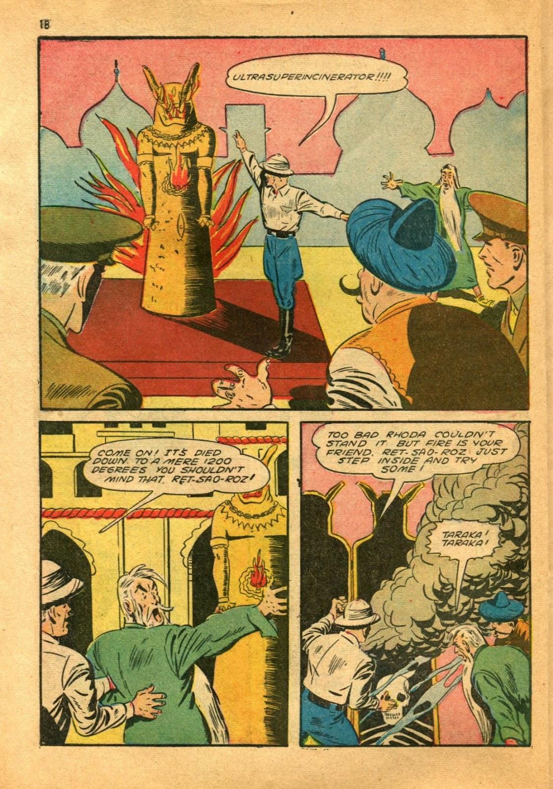 Read online Super-Magician Comics comic -  Issue #11 - 18