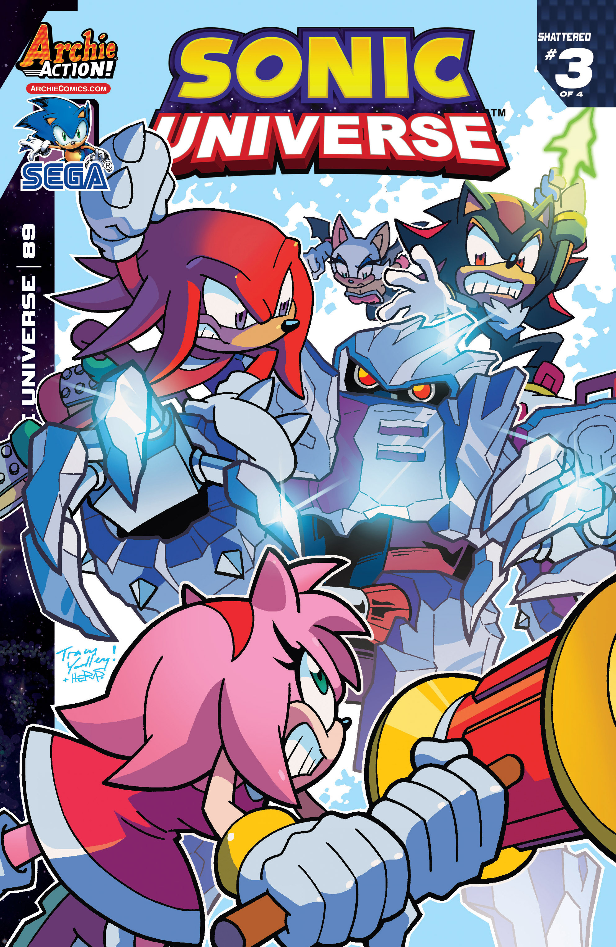 Sonic Universe 89 Page 1