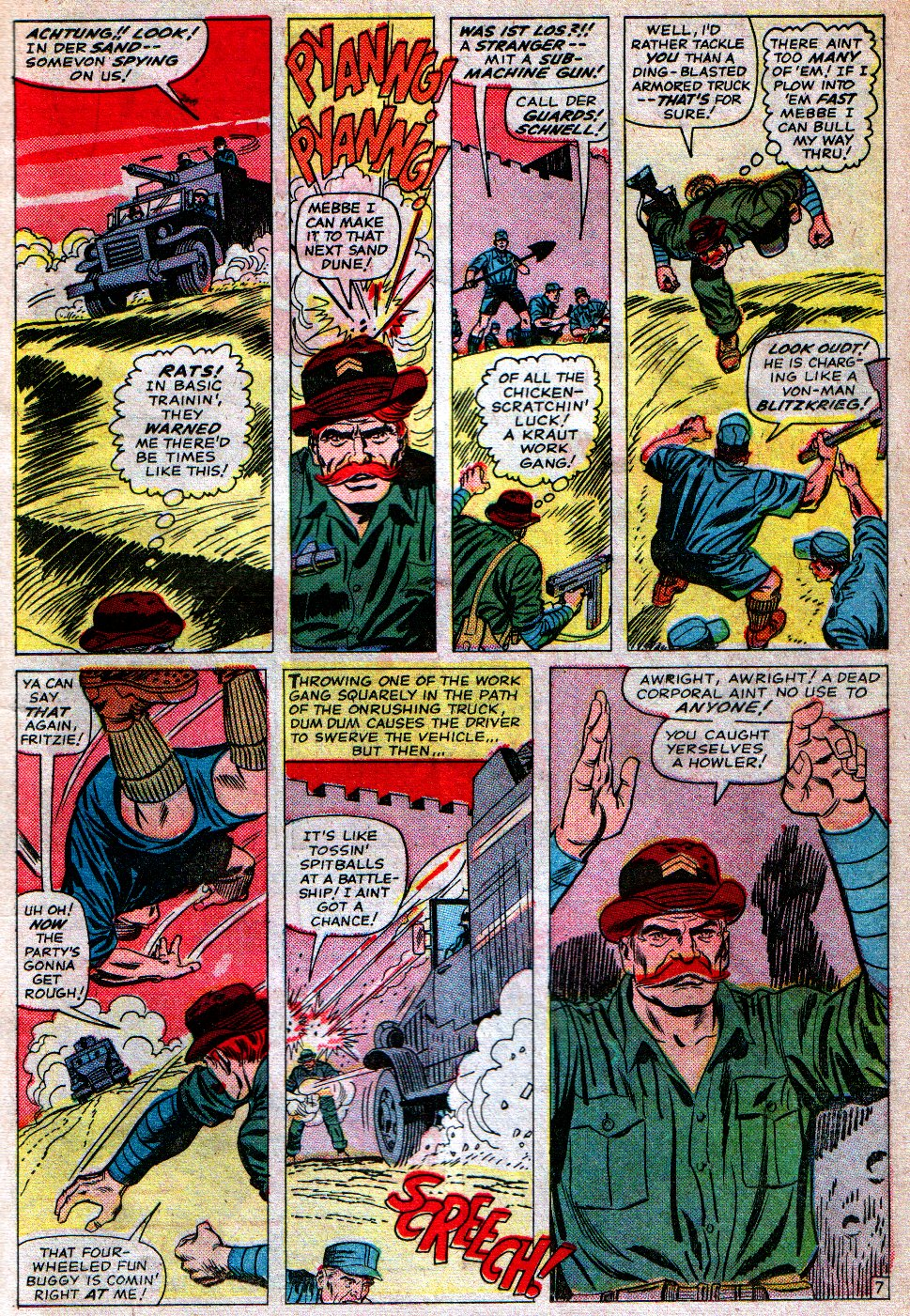 Read online Sgt. Fury comic -  Issue #16 - 11