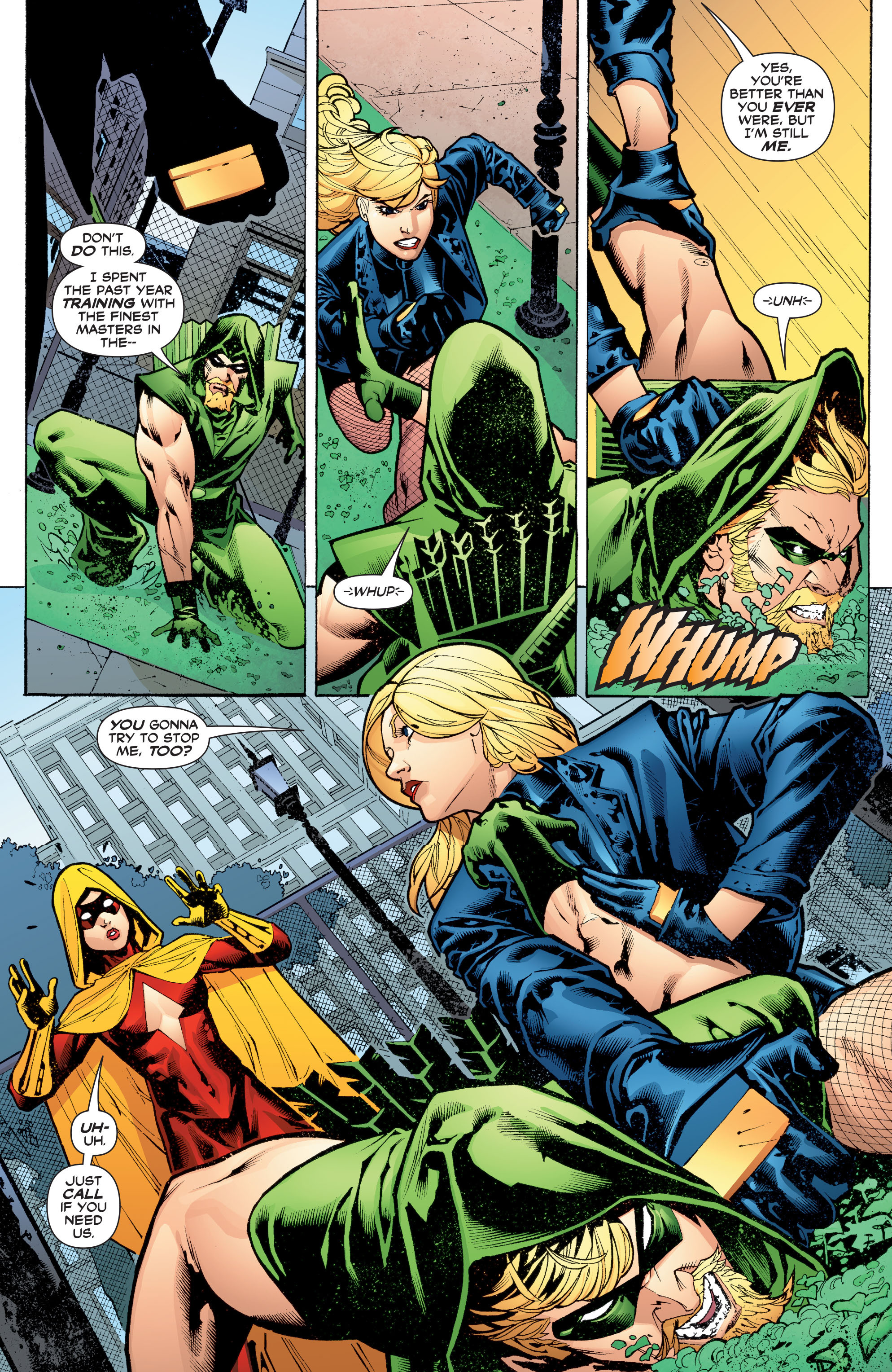 Read online Black Canary (2007) comic -  Issue #3 - 6