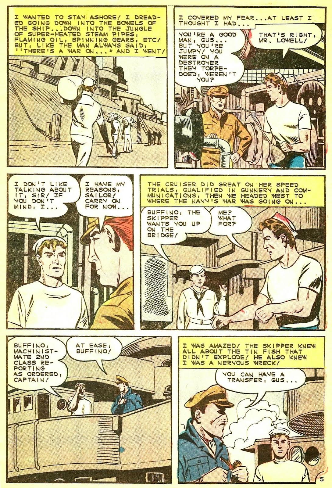 Read online Fightin' Navy comic -  Issue #124 - 9
