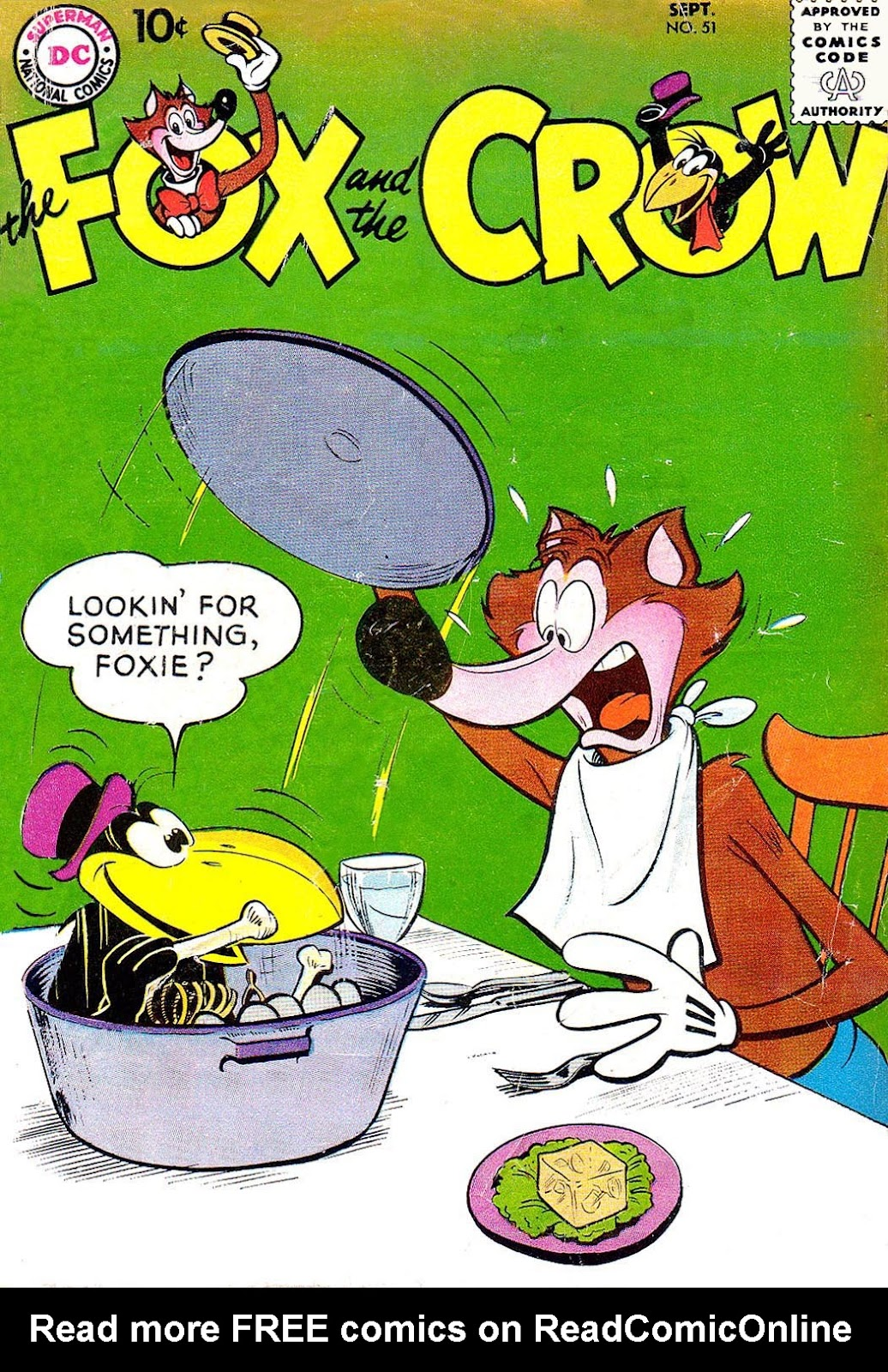 The Fox and the Crow issue 51 - Page 1