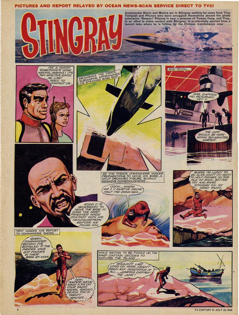 Read online TV Century 21 (TV 21) comic -  Issue #79 - 4