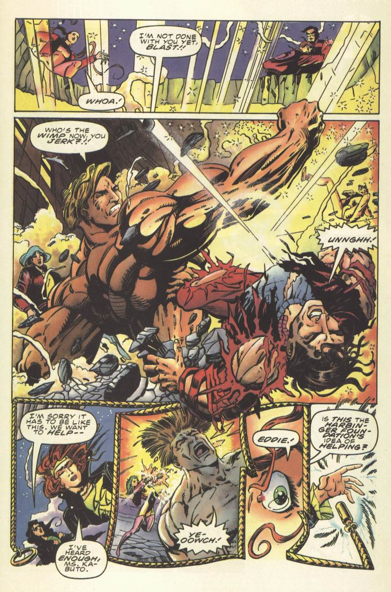 Read online Secret Weapons comic -  Issue #8 - 15