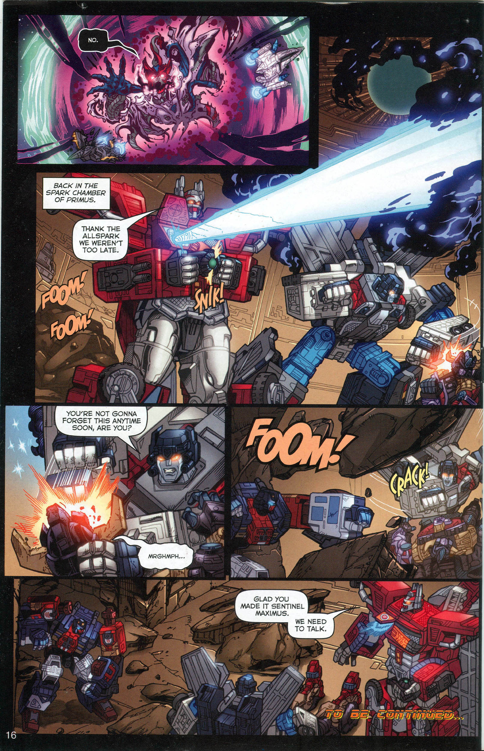 Read online Transformers: Collectors' Club comic -  Issue #7 - 16